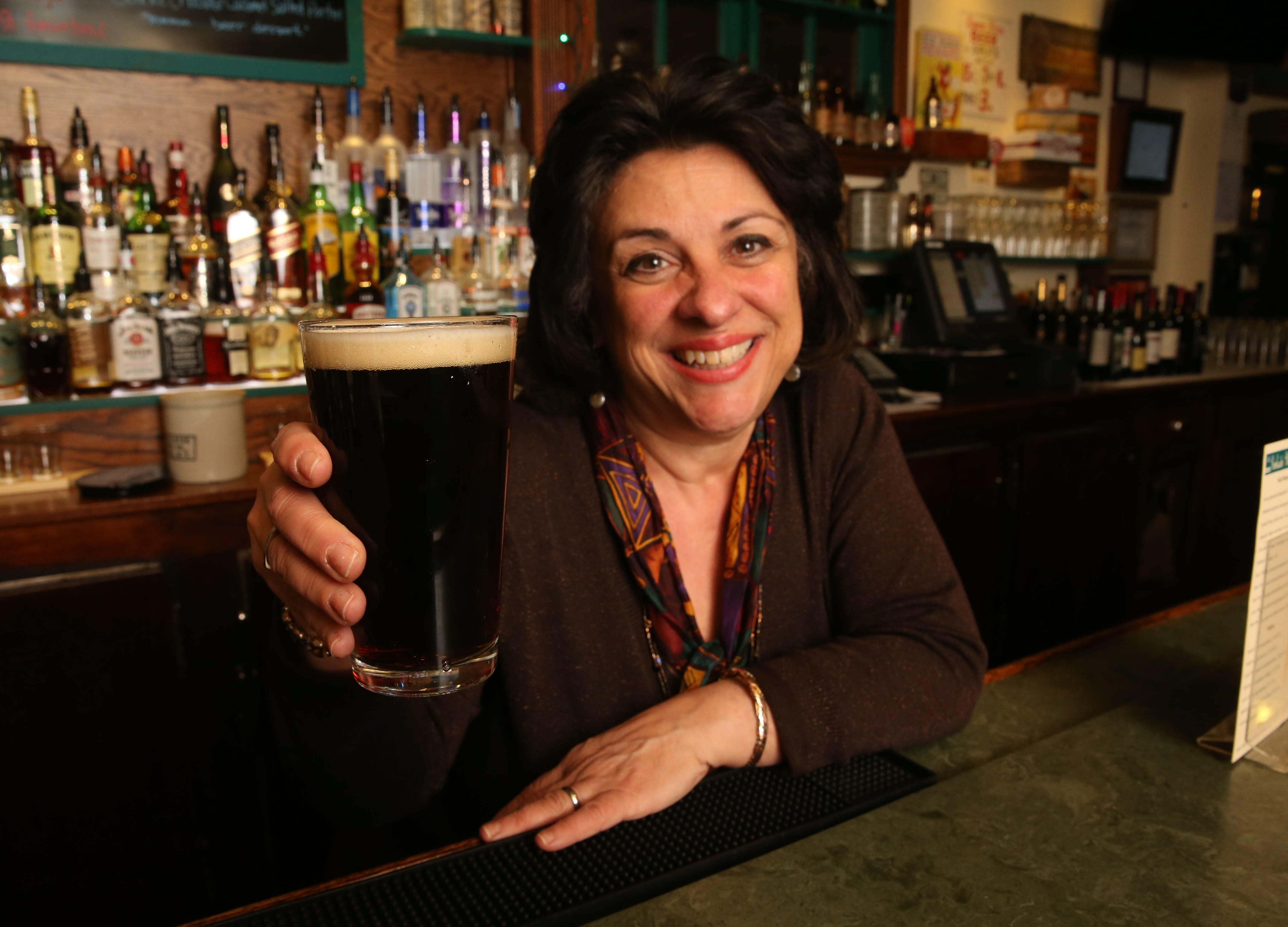 Parkside Meadow is at 2 Russell Street in Buffalo.  Owner Nancy Abramo pours a Pearl Street Gingerbread Cookie beer. See a photo gallery at buffalonews.com
