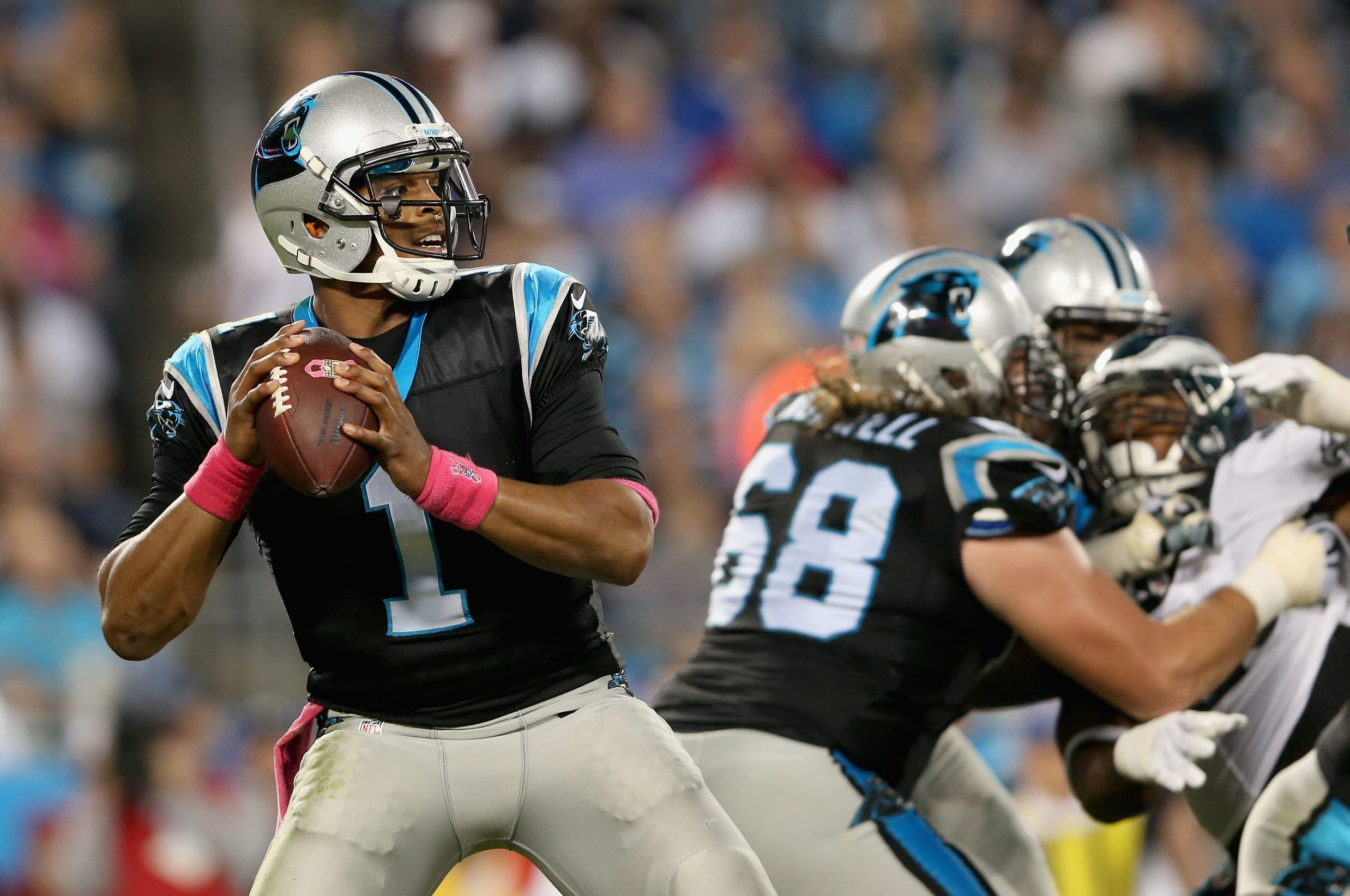 Quarterback Cam Newton has been involved in 26 of the undefeated Carolina Panthers' 32 offensive touchdowns this season.