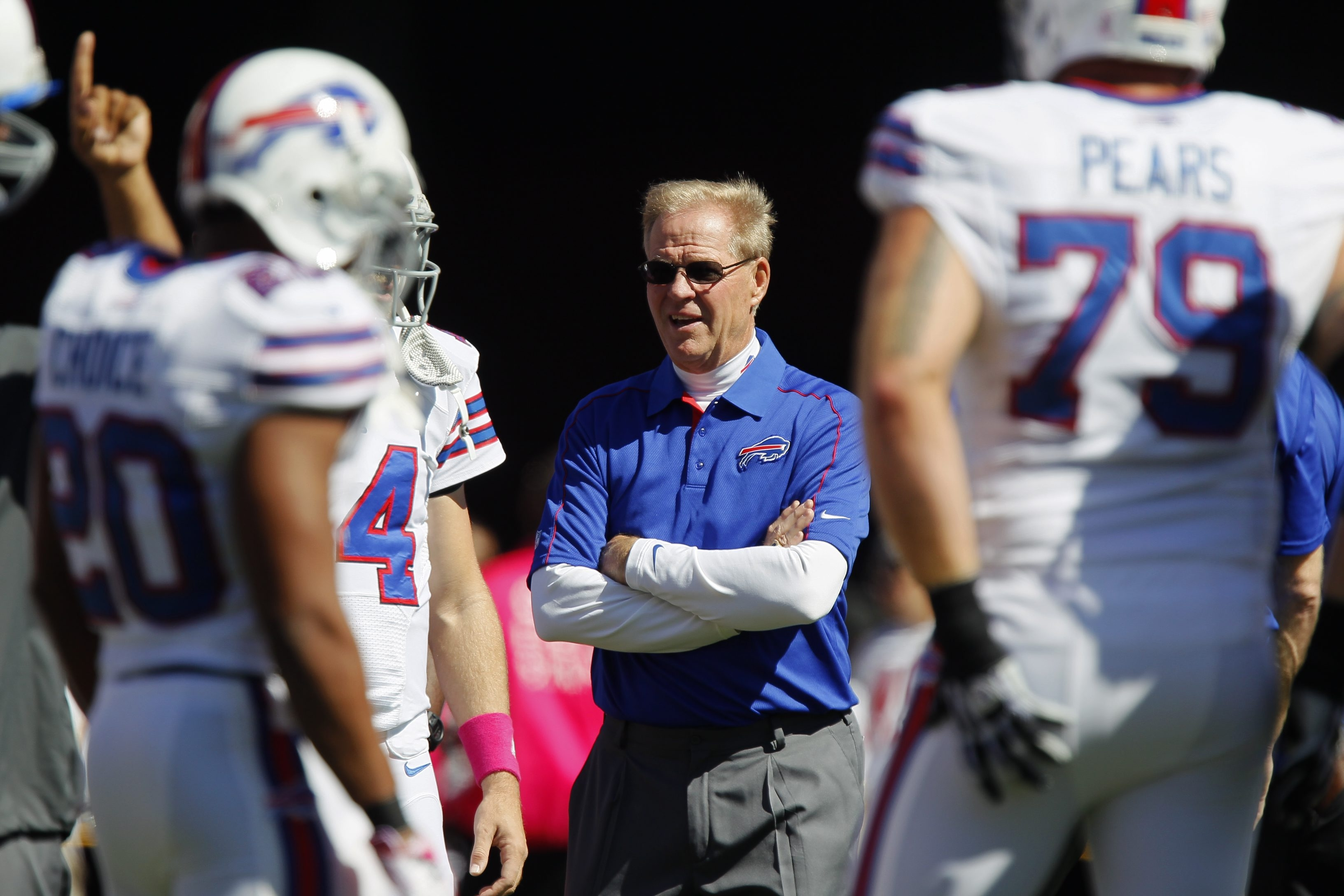 Bruce DeHaven coached some of the finest special teams the NFL has seen during his time with the Buffalo Bills. Now he plies his craft with the unbeaten Carolina Panthers while also undergoing cancer treatments.