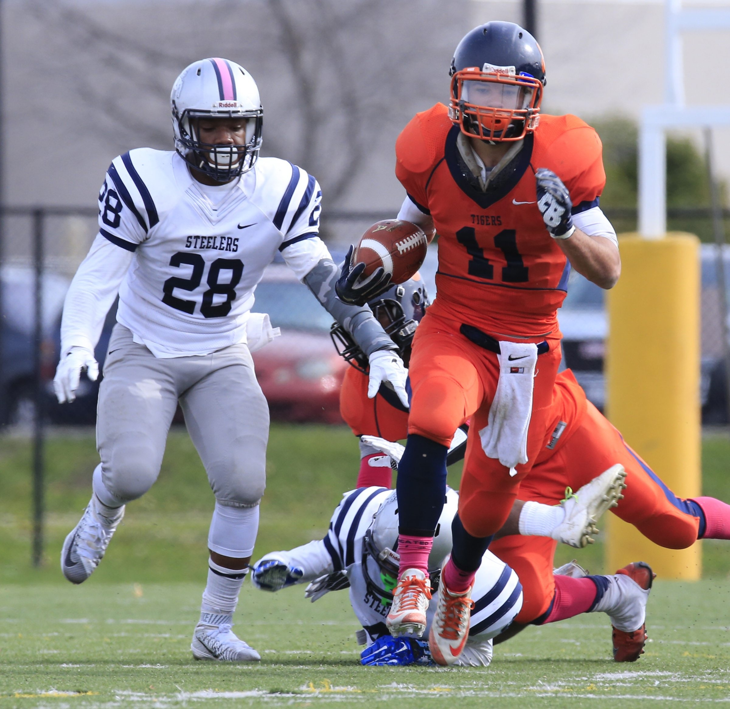 USA Today selected Bennett's Isaiah McDuffie as its New York Defensive Player of the Year.