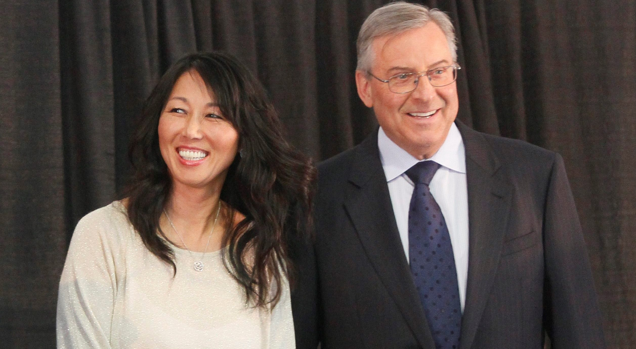 Kim and Terry Pegula own two franchises going nowhere rather than just one, Bucky Gleason says. (Mark Mulville/News file photo)
