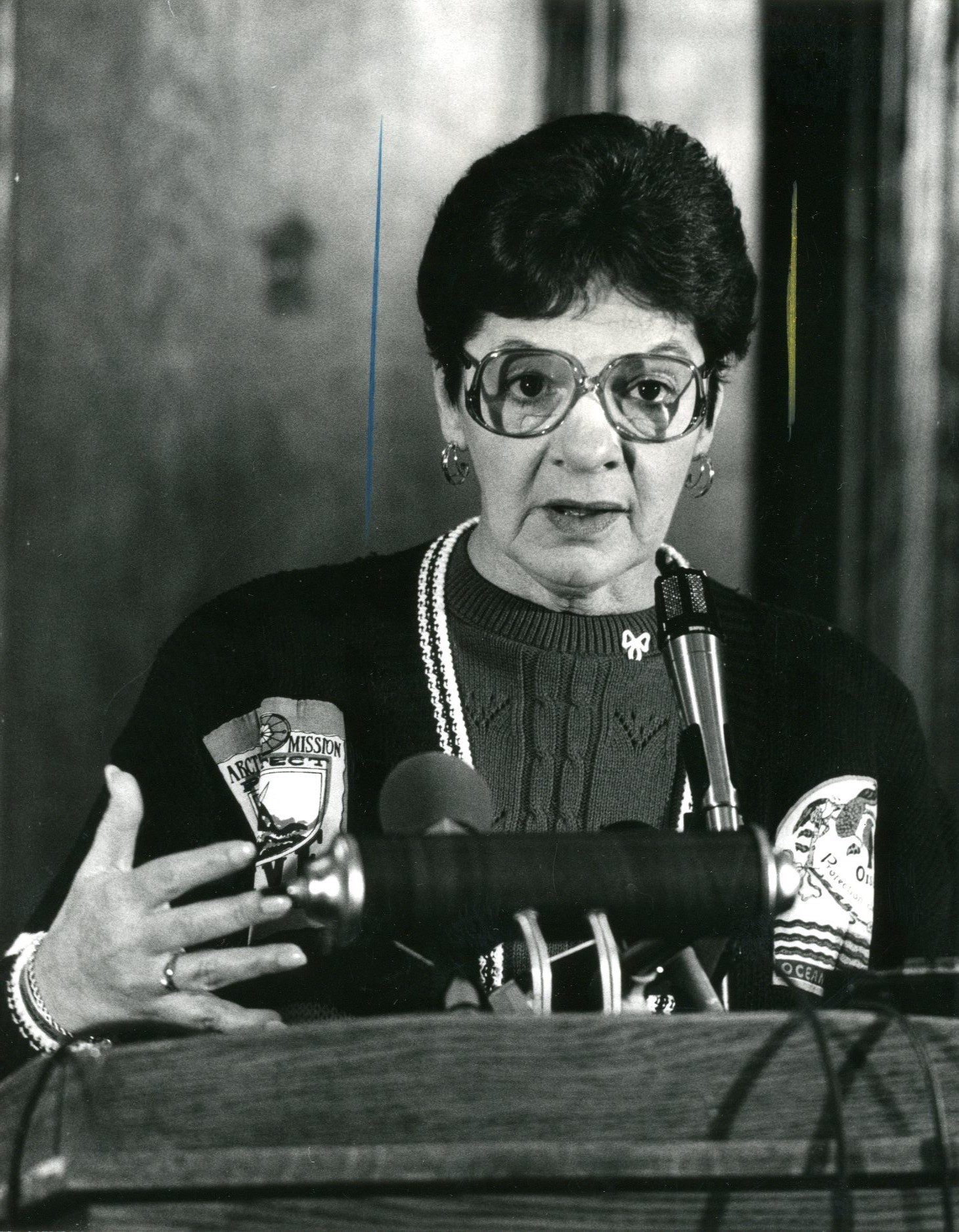 Peggy Say. (News file photo)