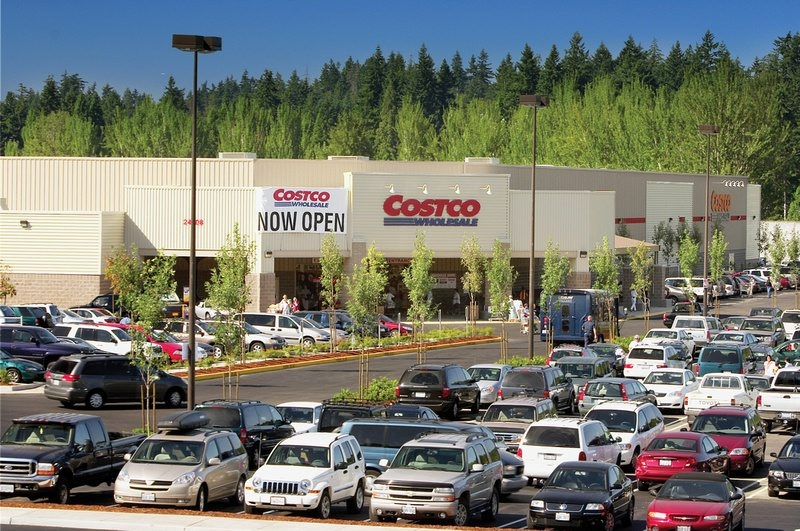 """Warehouse retailer Costco Wholesale is known as the """"anti-Walmart"""" because it pays its workers an average of $20.89 an hour, plus health insurance."""