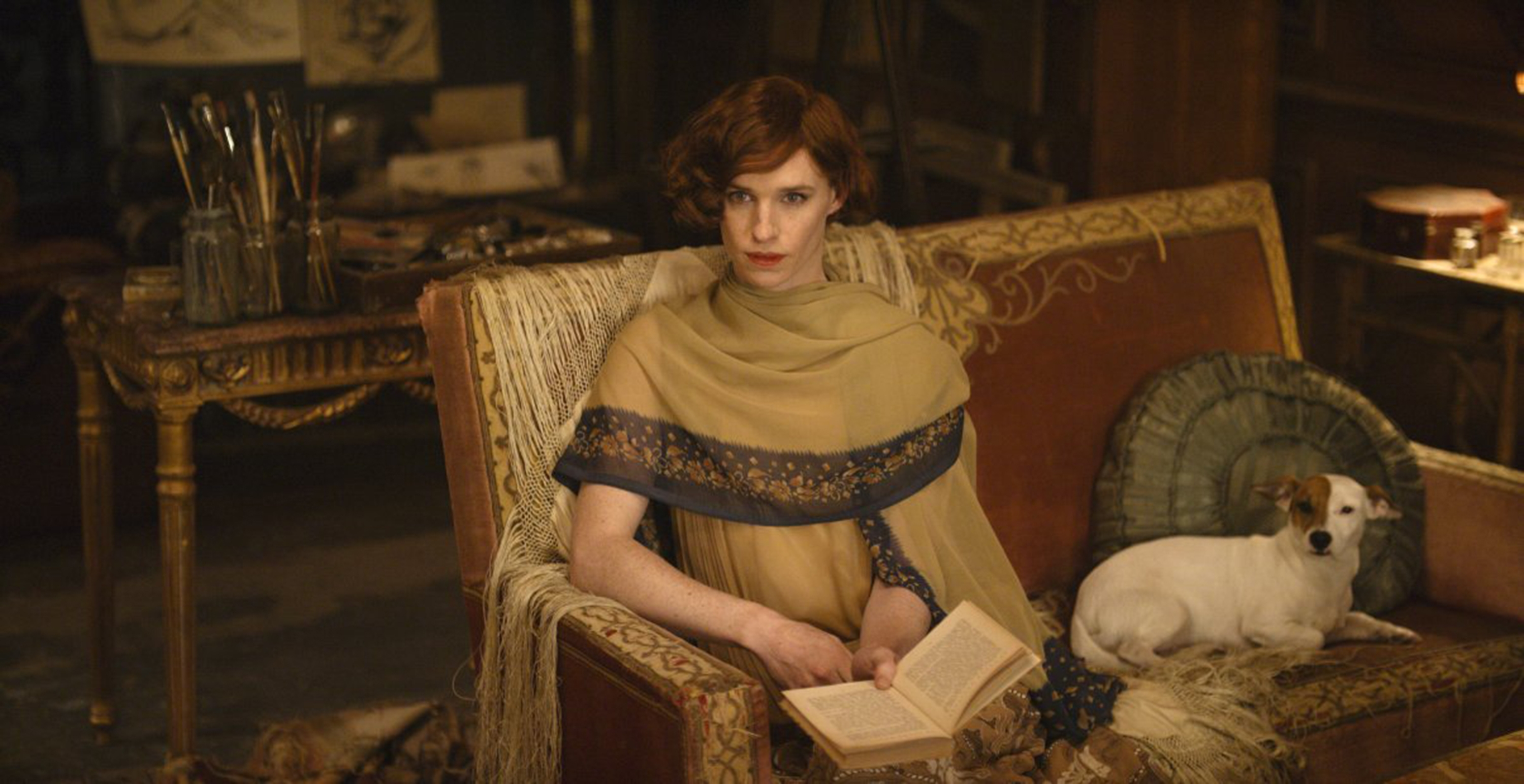 "Eddie Redmayne in ""The Danish Girl."" (Agatha A. Nitecka/Focus Features/TNS)"