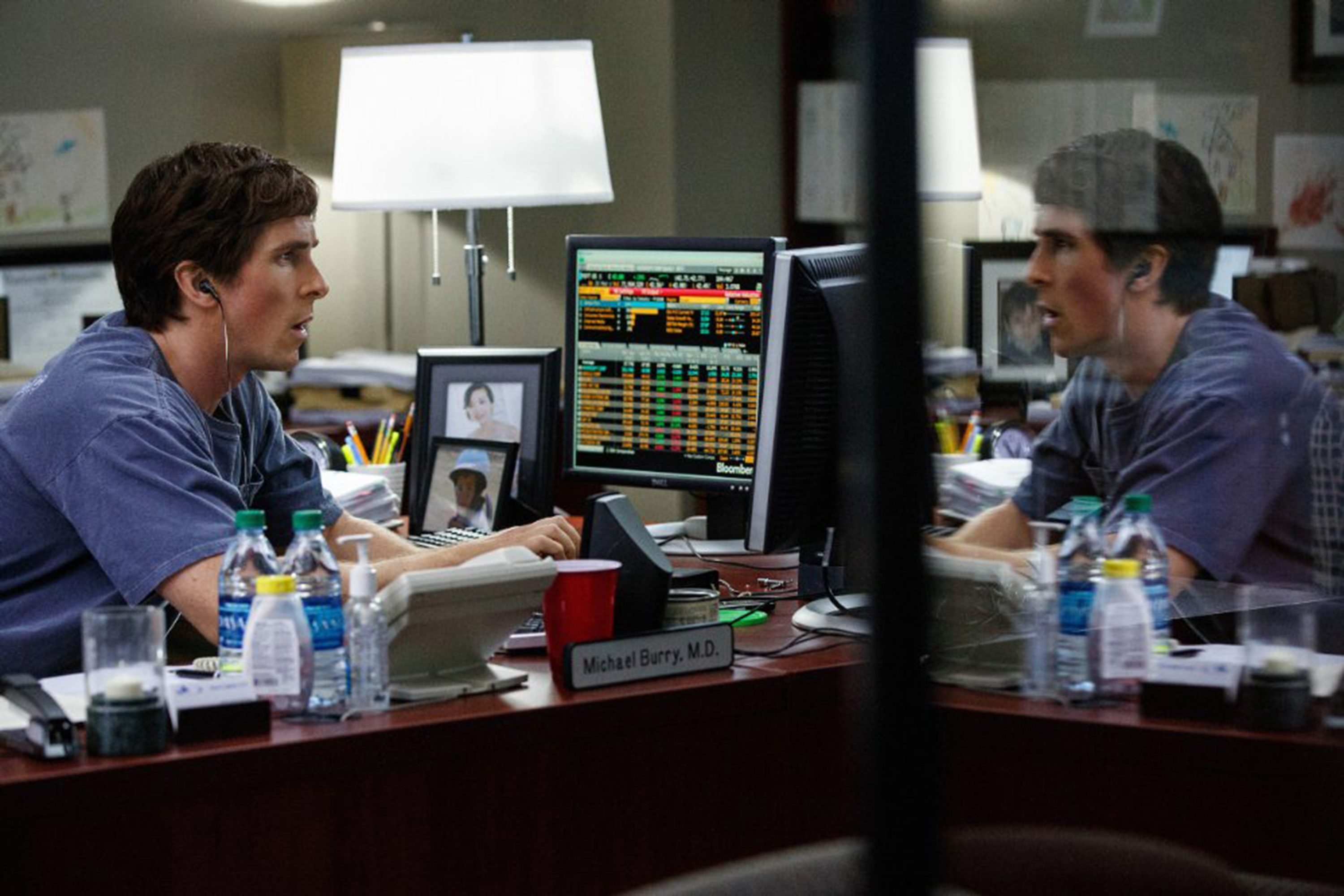 "Christian Bale in ""The Big Short."" (Paramount Pictures)"