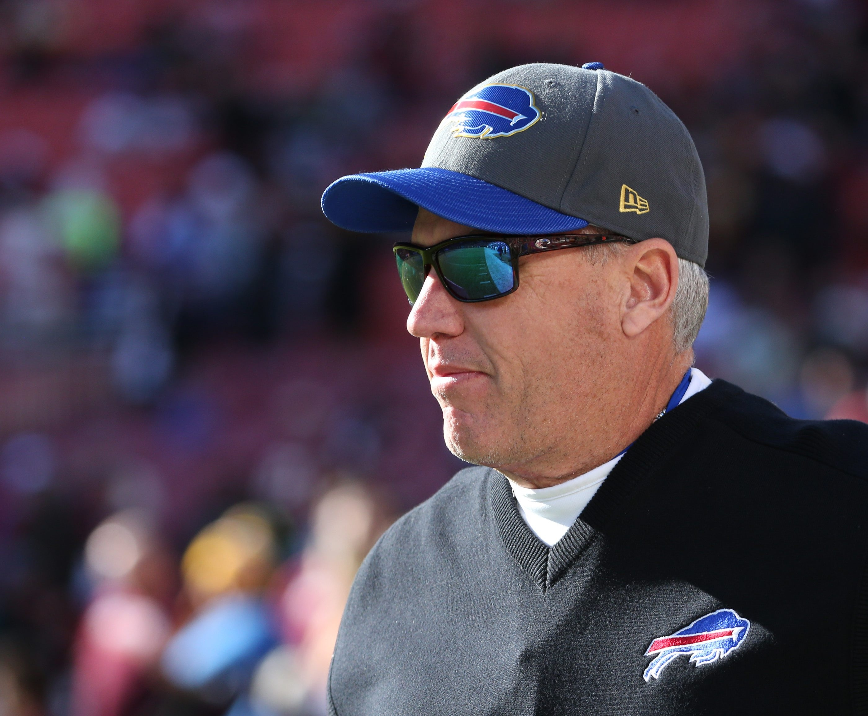 Bills head coach Rex Ryan remains the most powerful man in the team's football department, with four years remaining on his contract. (James P. McCoy/Buffalo News)