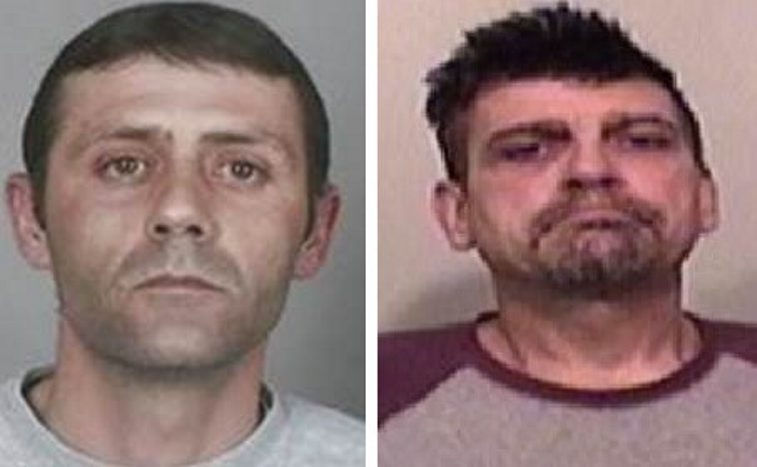 Authorities say John A. Battaglia, right, and James M. Baglio were ringleaders.