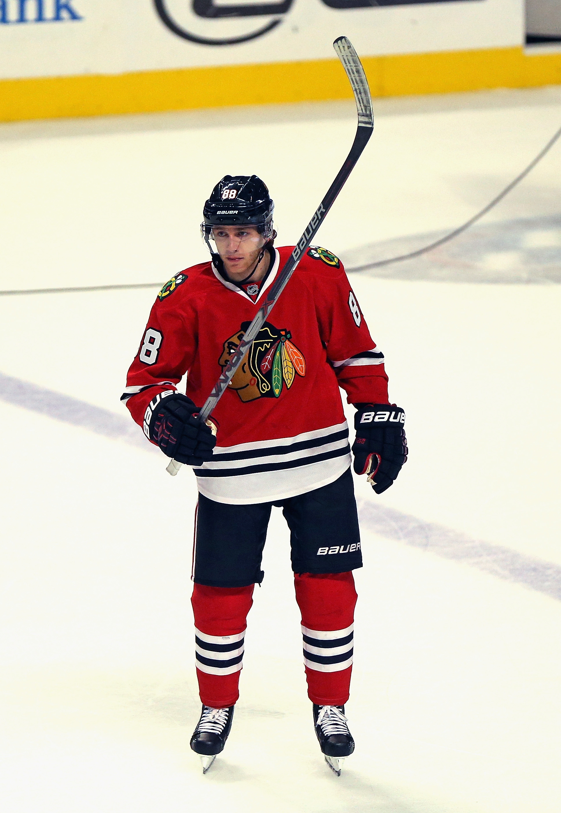 Patrick Kane had his point streak stopped at 26 games.