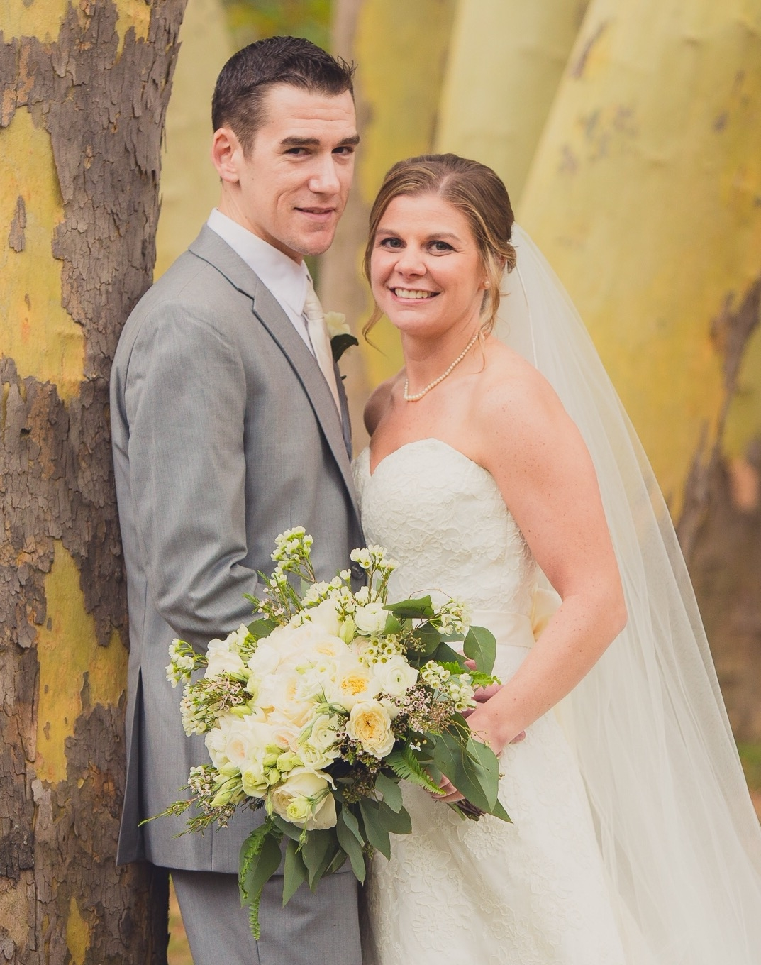 Katherine A Sampson and Brett J. Glose marry in Christ the King Chapel