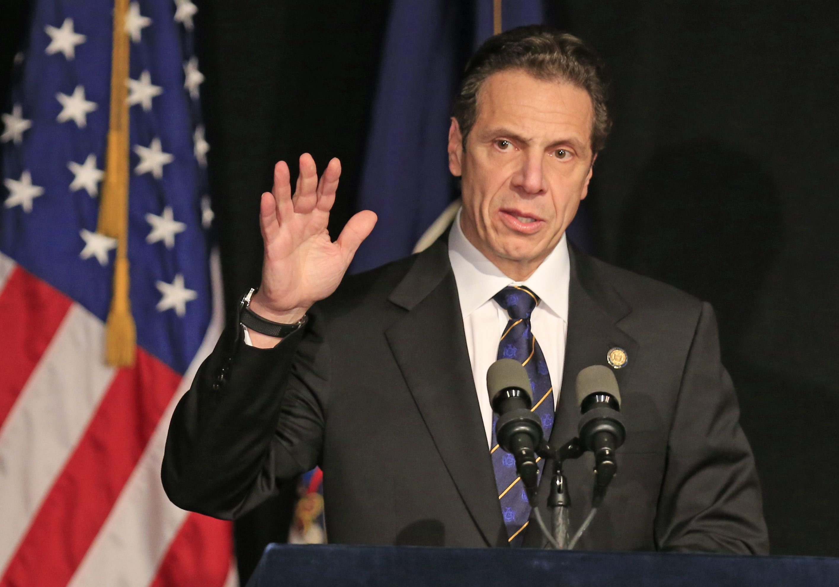 New York Gov. Andrew Cuomo recently retreated from demanding tough education reforms that were opposed by teachers.
