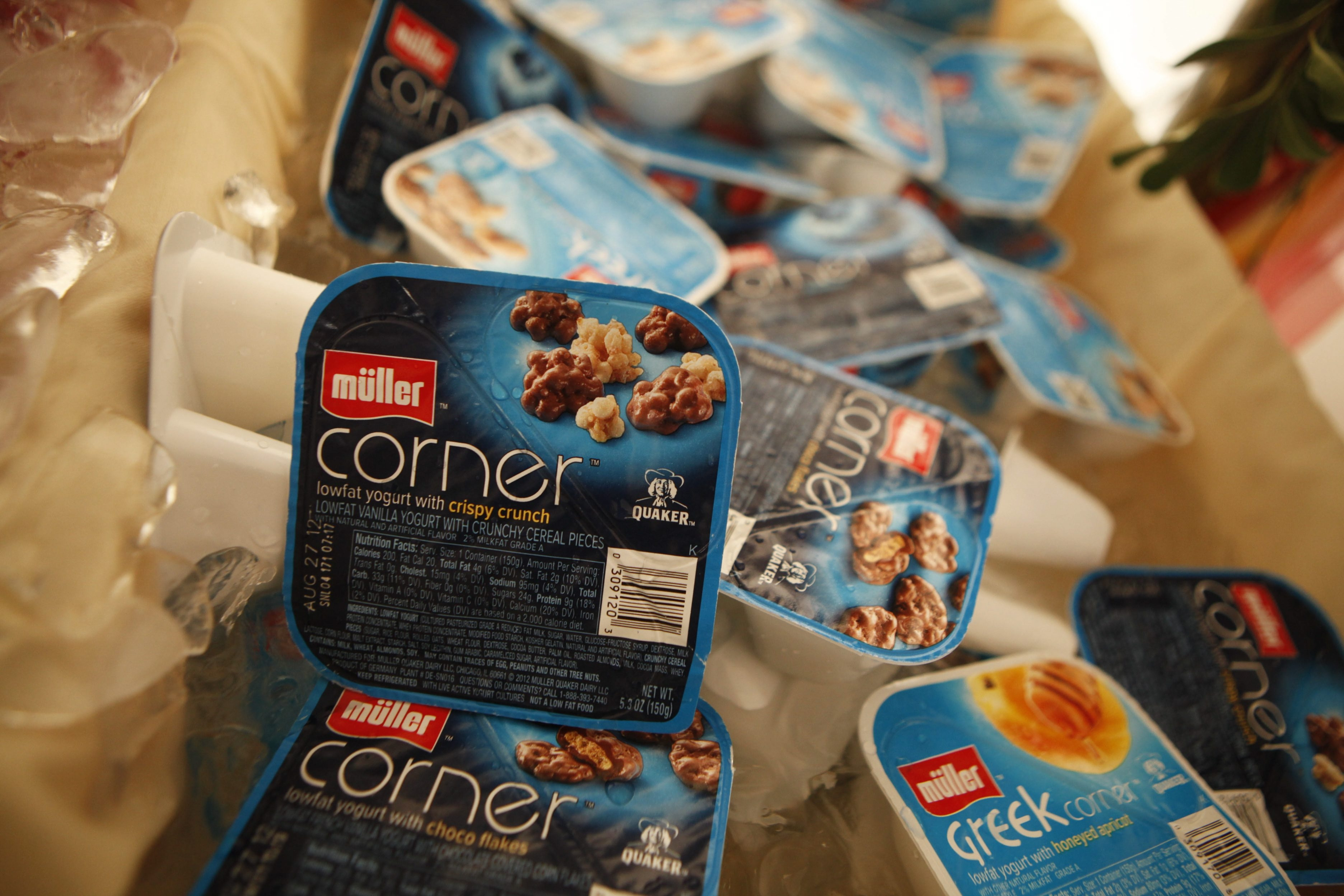 Greek yogurt was considered a hot consumer item when Muller Quaker Dairy opened two years ago in Batavia.