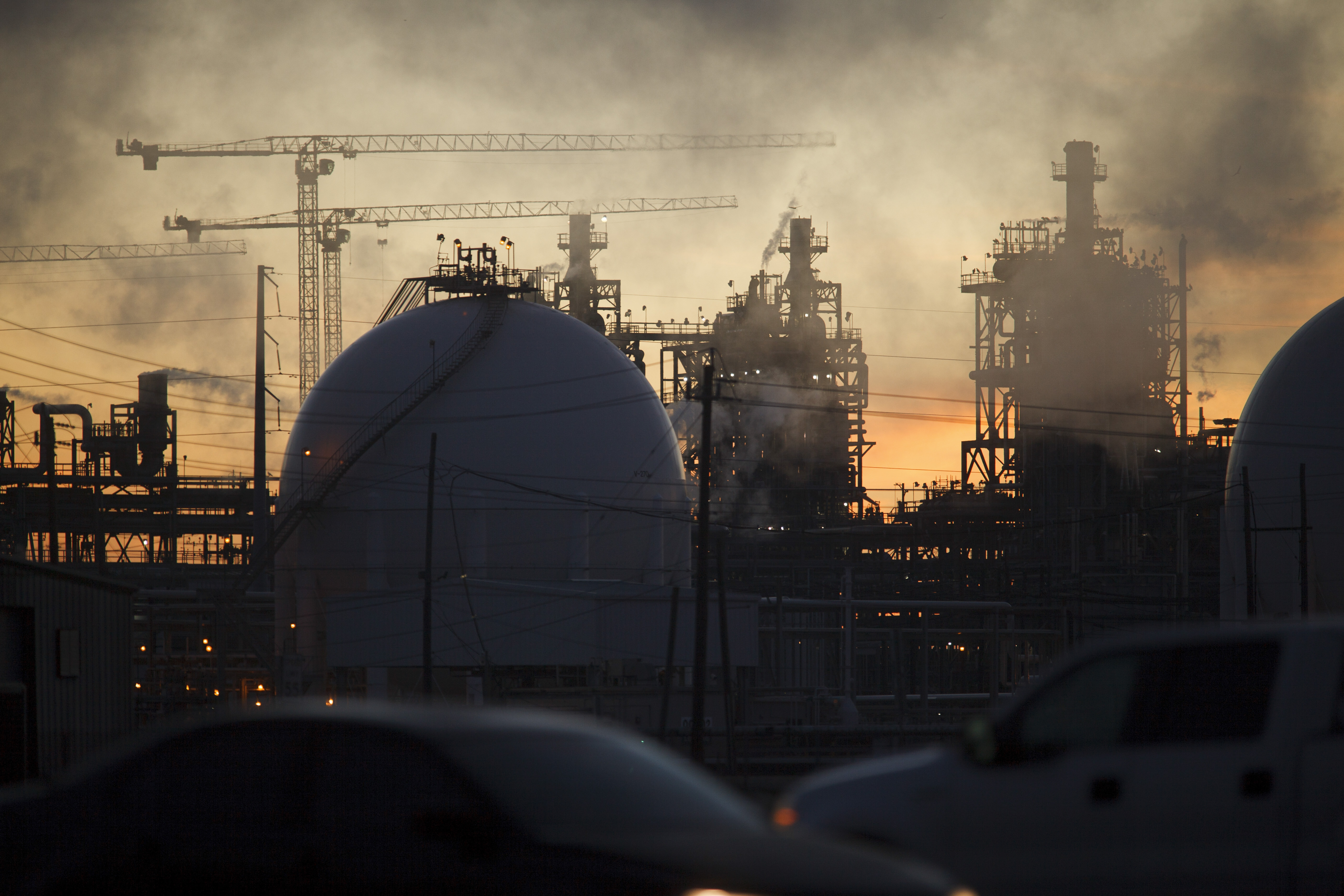 Dow Chemical – which owns this Oyster Creek, Texas, refinery – and DuPont have more than three centuries of history between them.