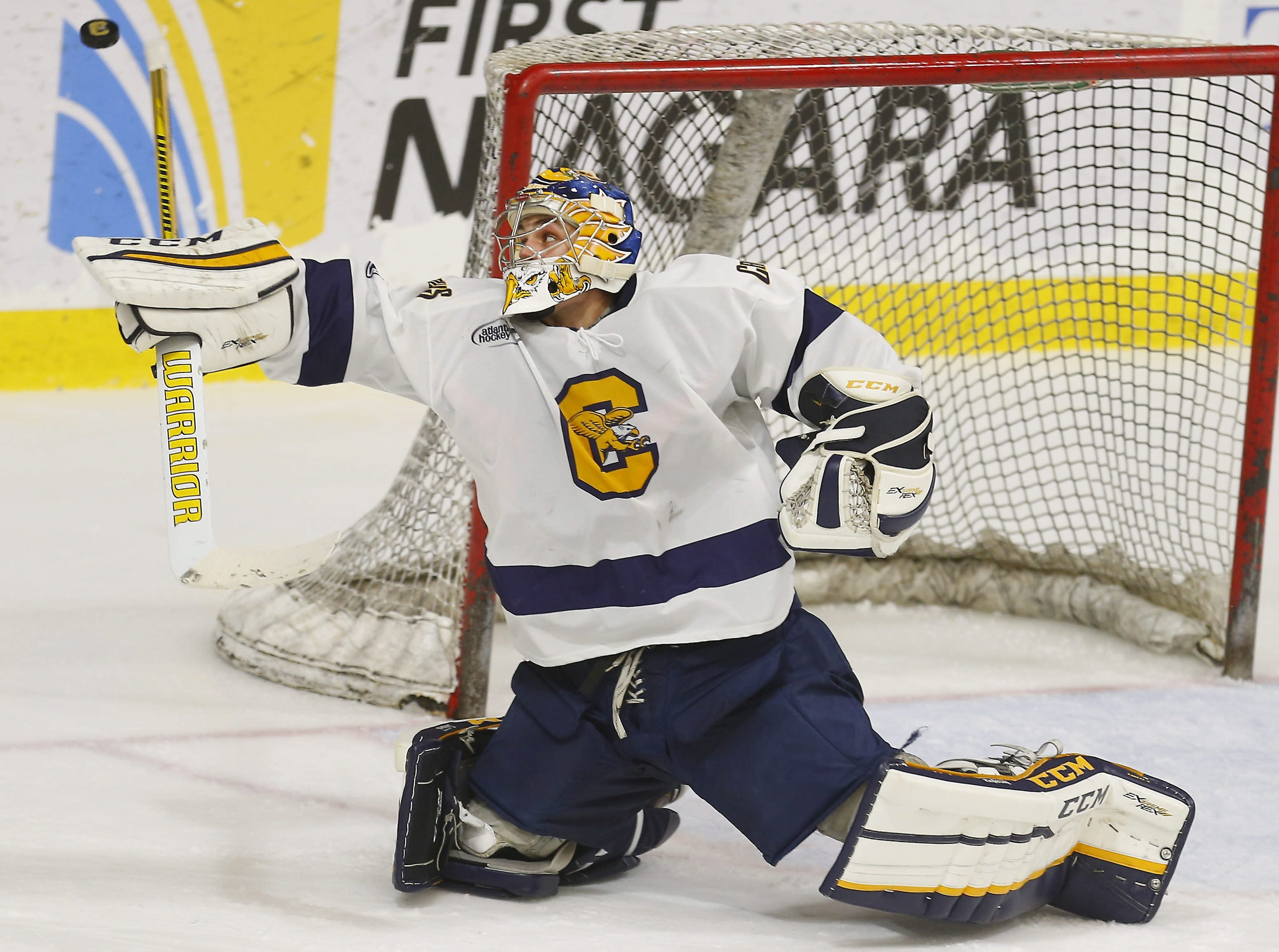 Canisius' Reilly Turner turned in solid efforts in back-to-back games against Air Force over the weekend in Colorado.