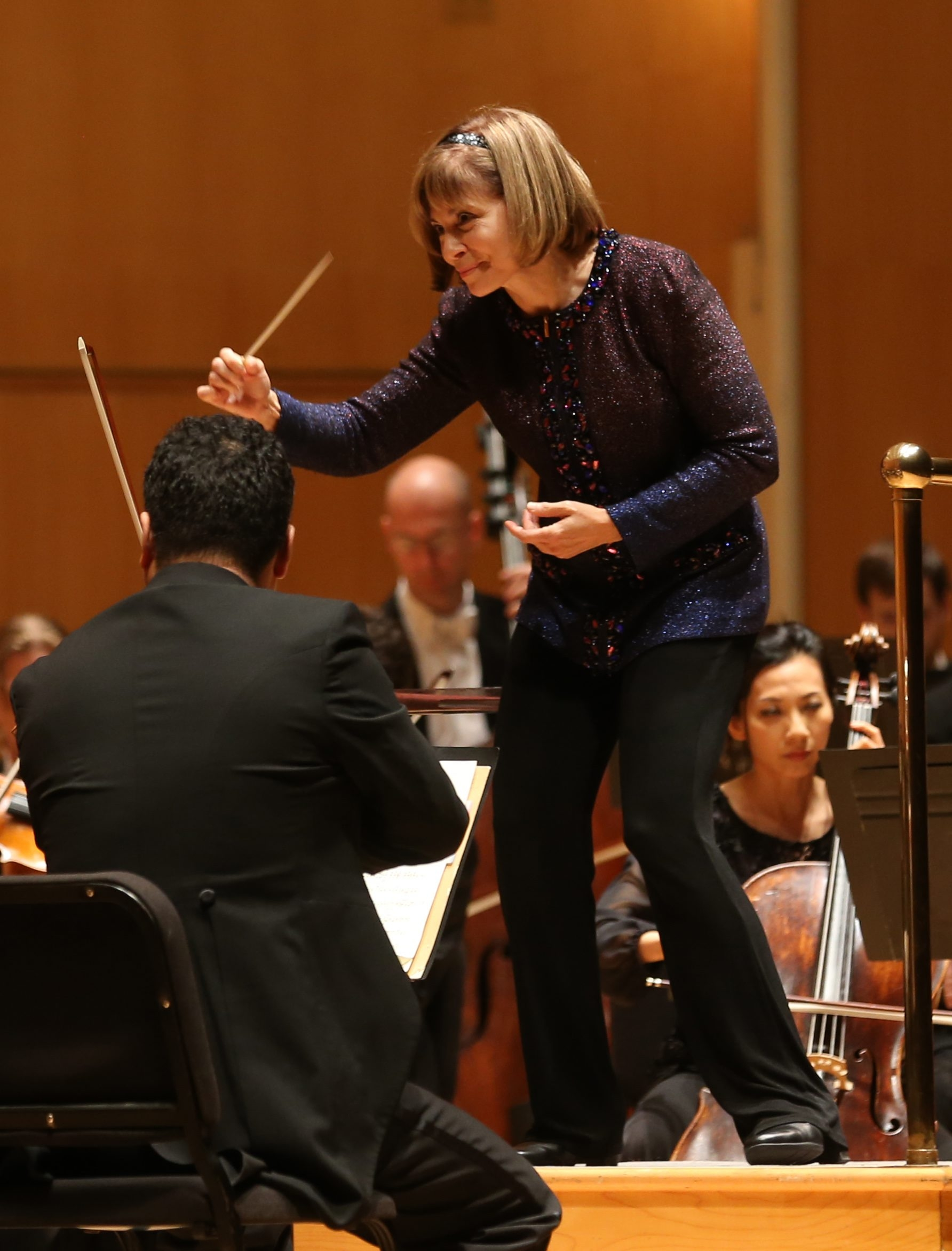 The BPO had its opening night gala, Wednesday, Sept. 16, 2015.  JoAnn Falletta, Music Director since 1999 has raised the BPO to a new level of national and international prominence.  (Sharon Cantillon/Buffalo News)