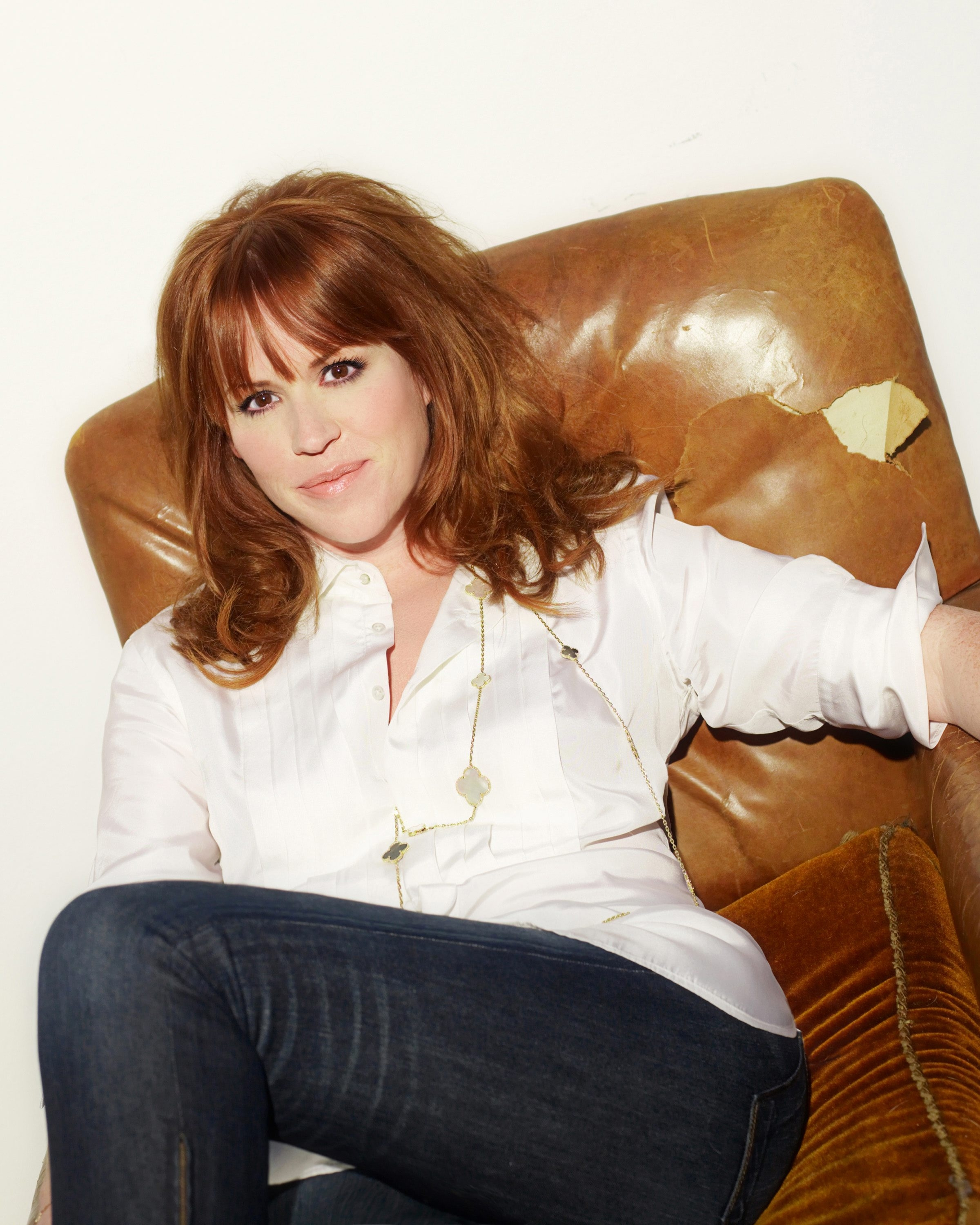 "Molly Ringwald revisits ""The Breakfast Club"" at the University at Buffalo Center for the Arts."