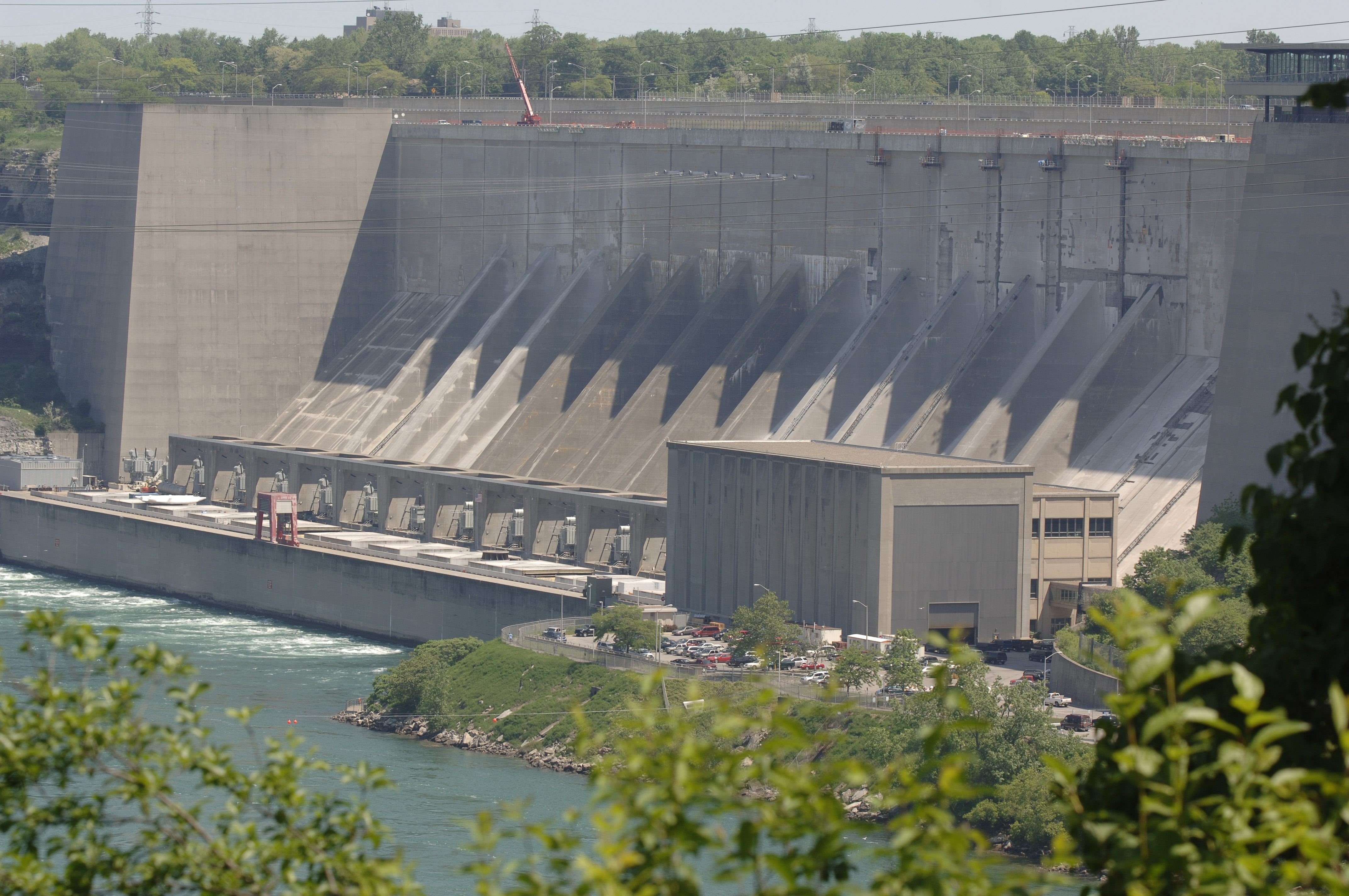 The New York State Power Authority Niagara Power Project on the lower Niagara River. (Derek Gee/Buffalo News file photo)