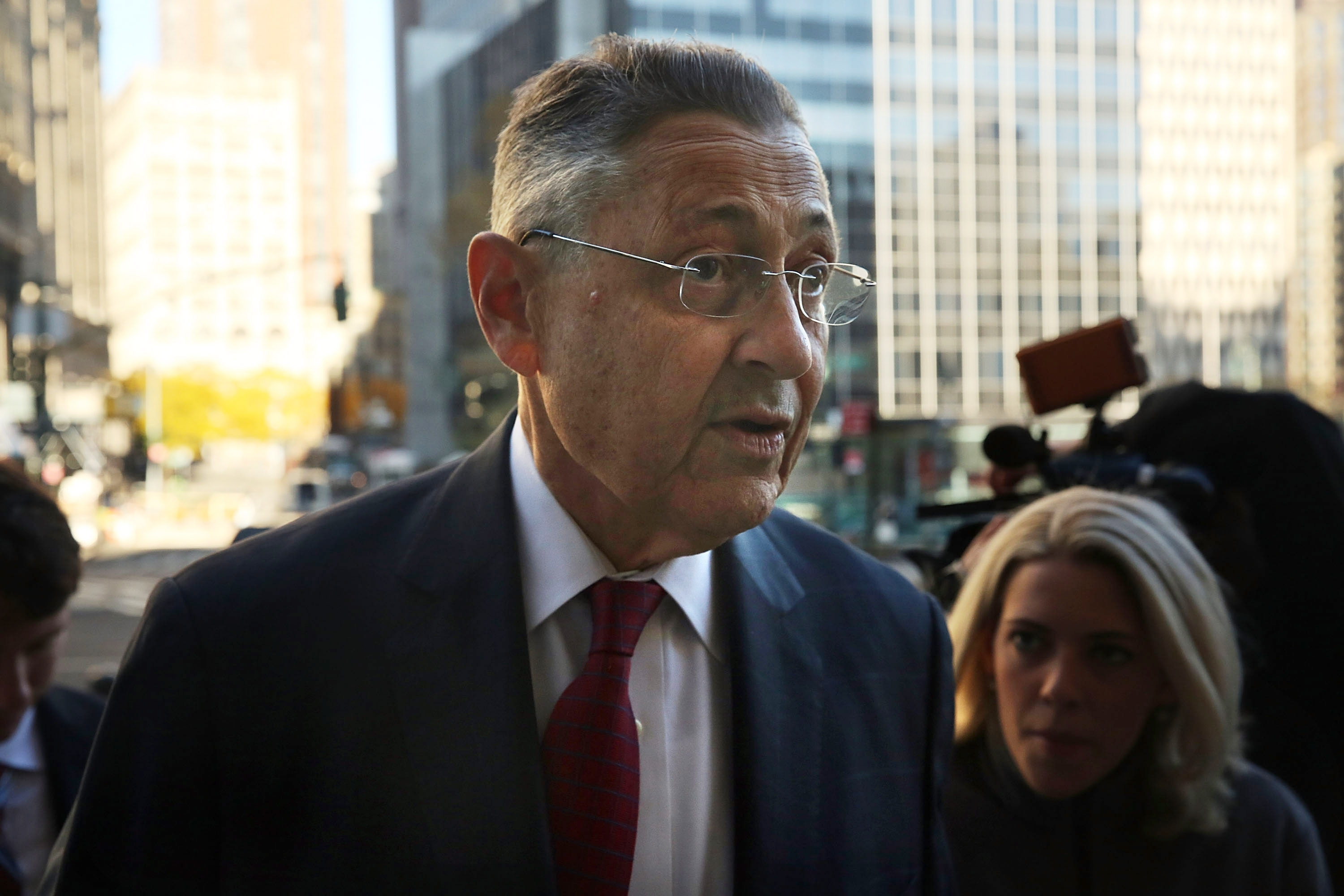 Former New York State Assembly Speaker Sheldon Silver, convicted of seven federal felonies this week, remains eligible to collect his state pension.