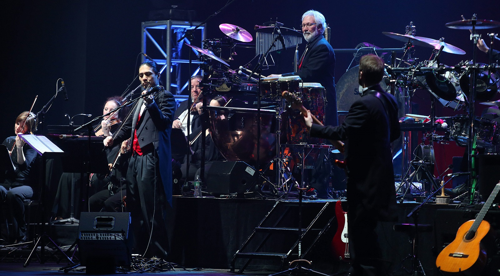 Mannheim Steamroller visits Buffalo each year. Here's an image from its 2013 show at Shea's Performing Arts Center. (Robert Kirkham/Buffalo News file photo)
