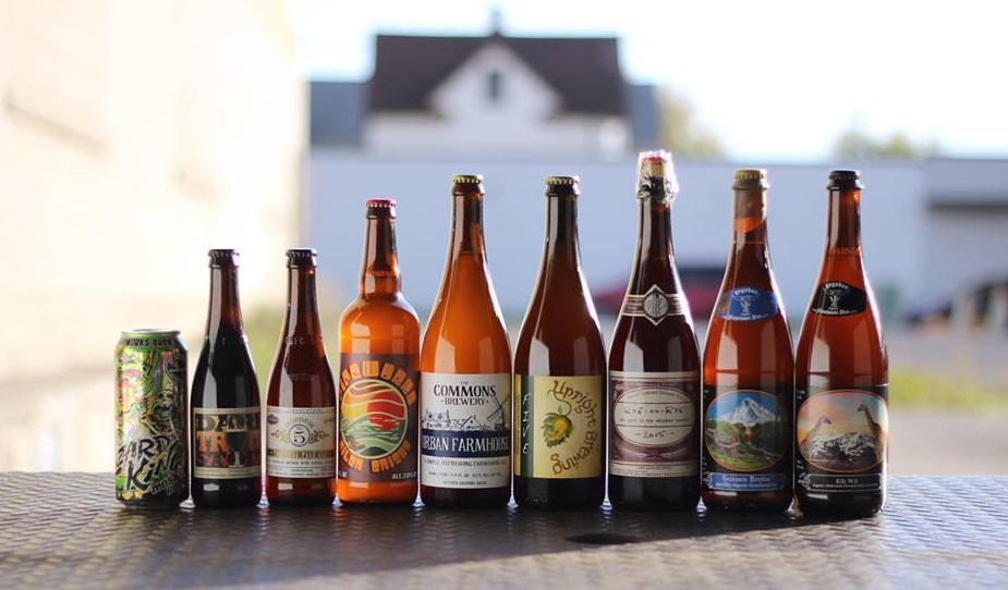 Lineup of beers for the Ballpark Brew Bash's Winter VIP Party. (via the Facebook event page)