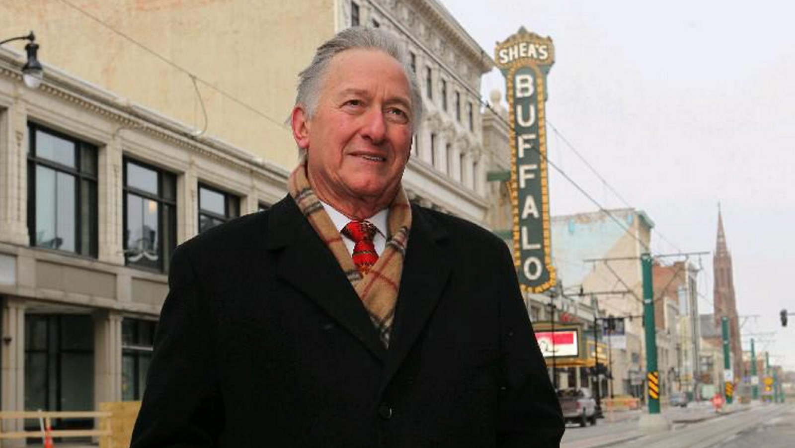 Anthony Conte left a legacy at Shea's Performing Arts Center.