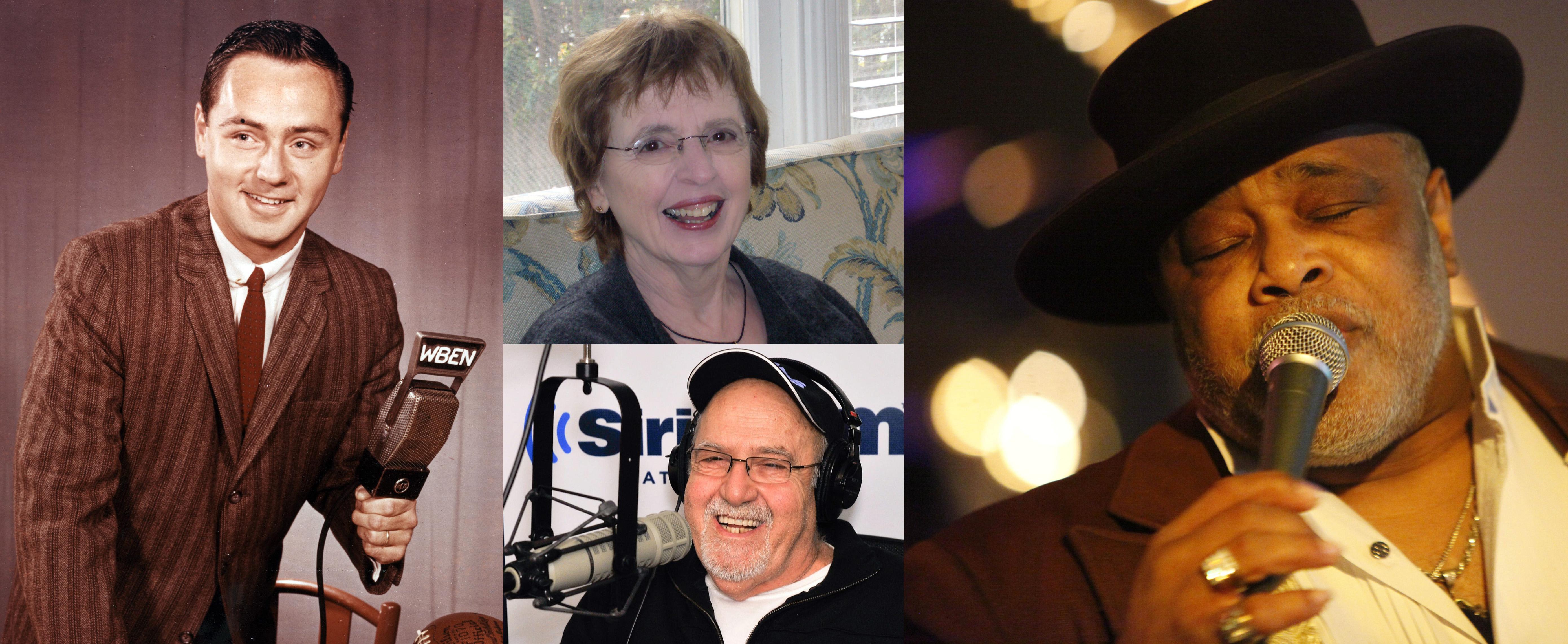Clockwise from left, Van Miller, Gabrielle Burton, Lance Diamond and Joe Guercio.
