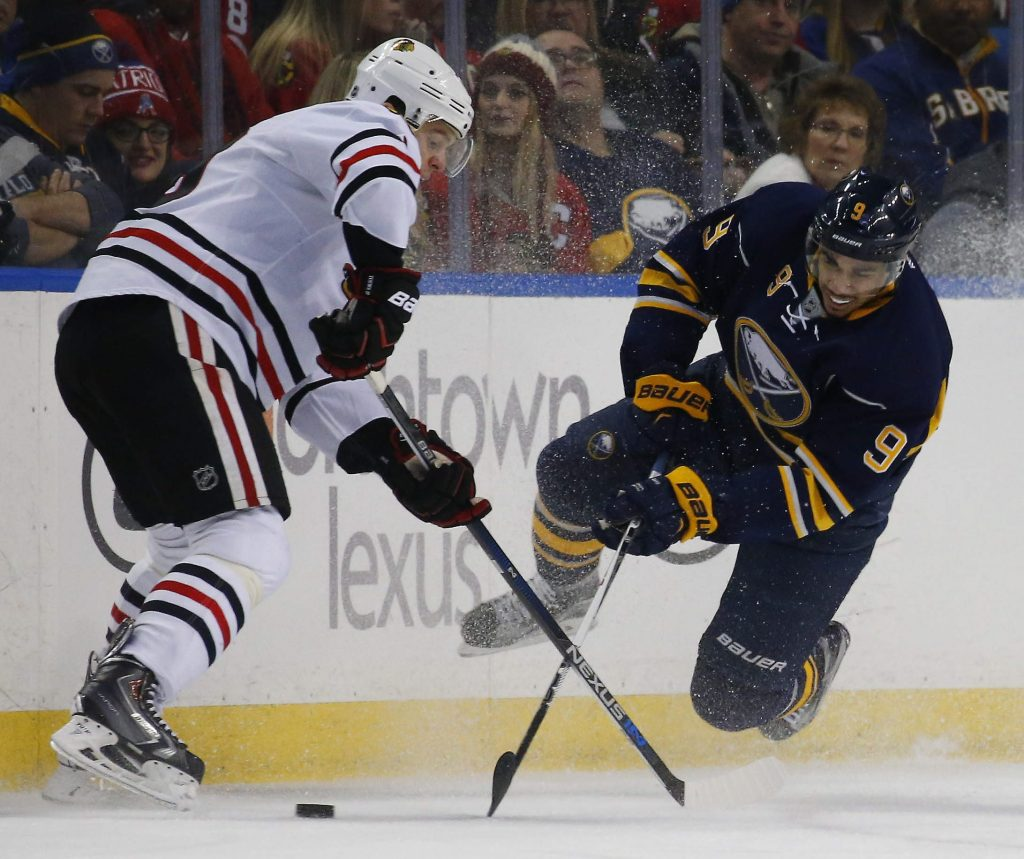 Evander Kane . (Mark Mulville/Buffalo News)