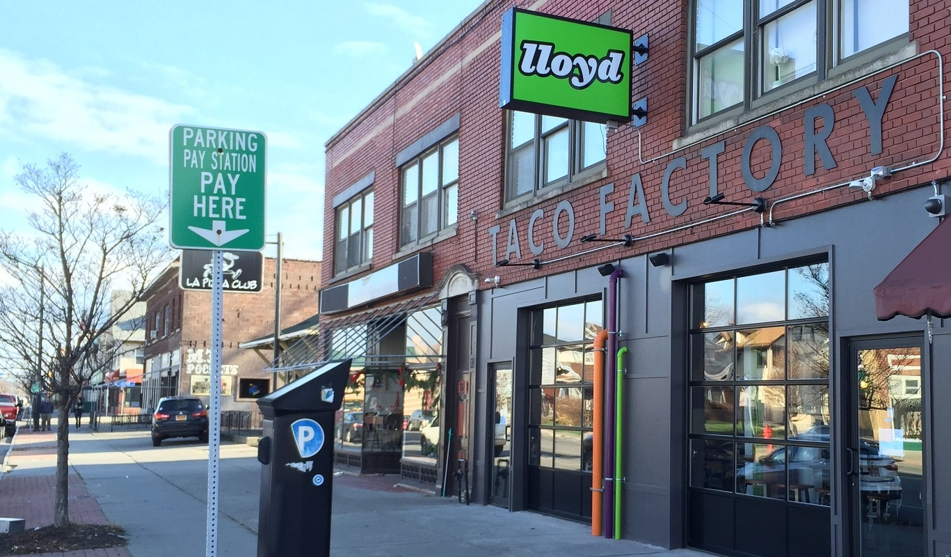 The original Lloyd Taco Factory, 1503 Hertel Ave., opened in 2015. (Ben Tsujimoto/Buffalo News)