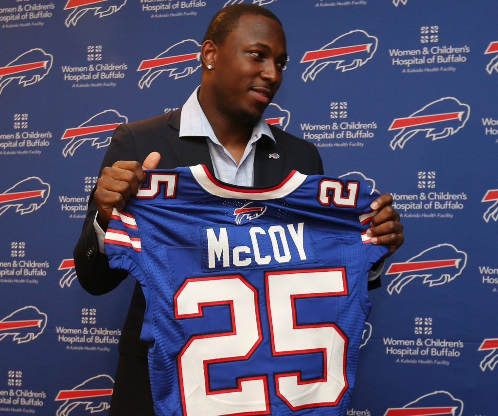 LeSean McCoy (James P. McCoy/Buffalo News)
