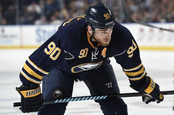 All-Star center Ryan O'Reilly leads the Sabres with 16 goals and 34 points during his first season in Buffalo.