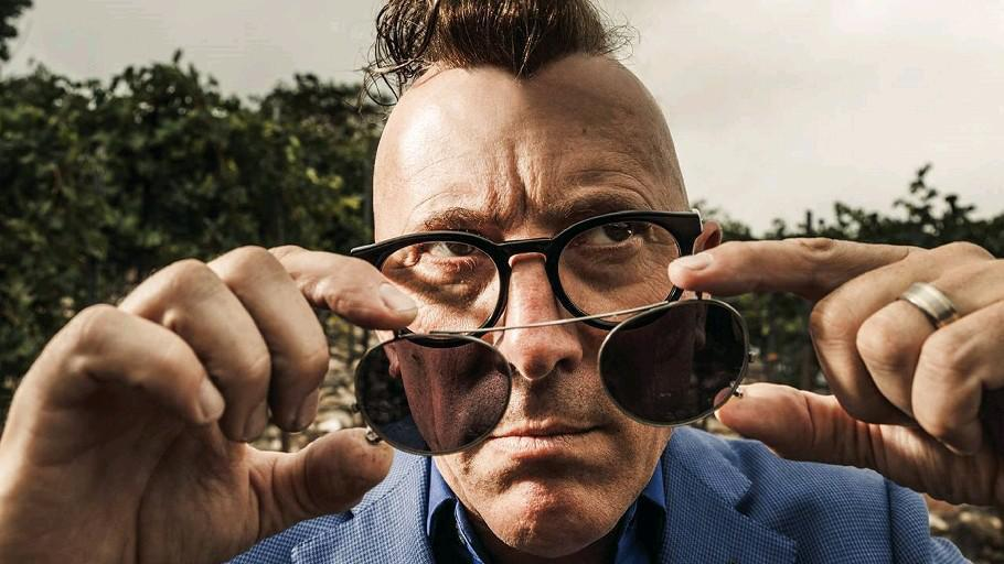 "Maynard James Keenan, mastermind behind Puscifer's ""Money Shot."""