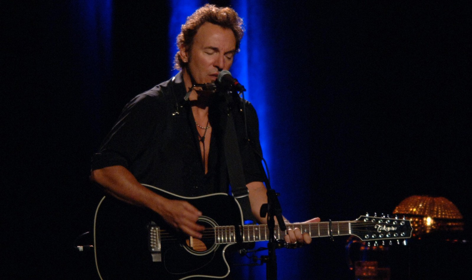 Bruce Springsteen at then-HSBC Arena in 2005. (Harry Scull Jr./Buffalo News)