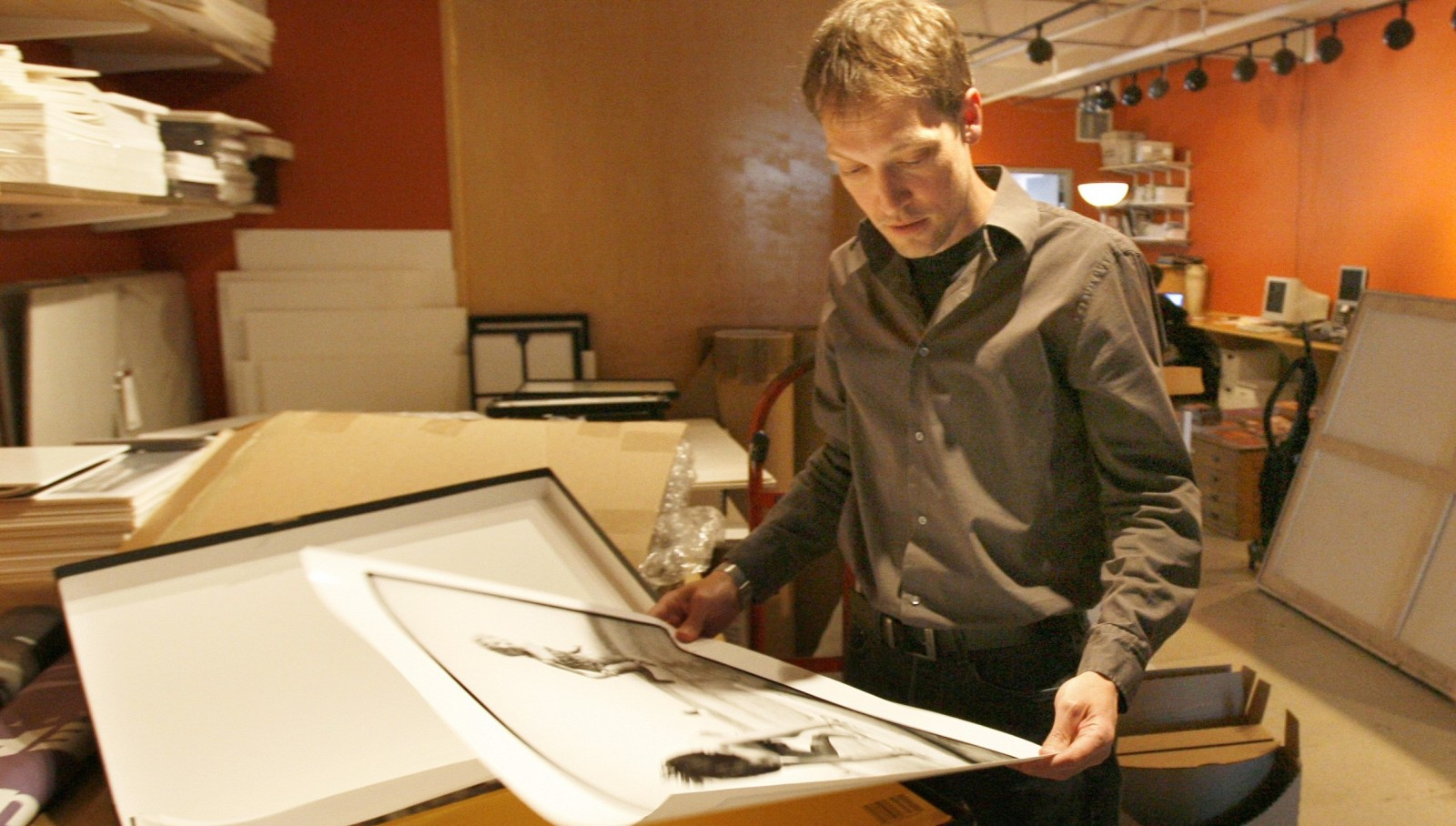 Sean Donaher, shown here in 2007, has been reinstated as director of CEPA Gallery.