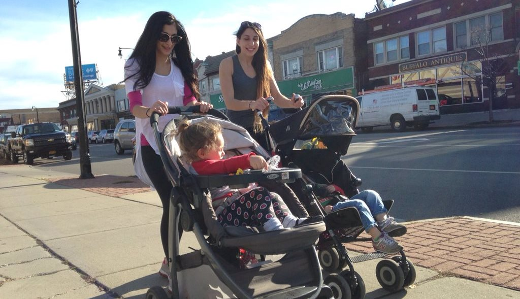 Walk down Hertel Avenue with the family on Saturday for a jolt of Halloween candy and maybe some shopping. (Sharon Cantillon/Buffalo News file photo)