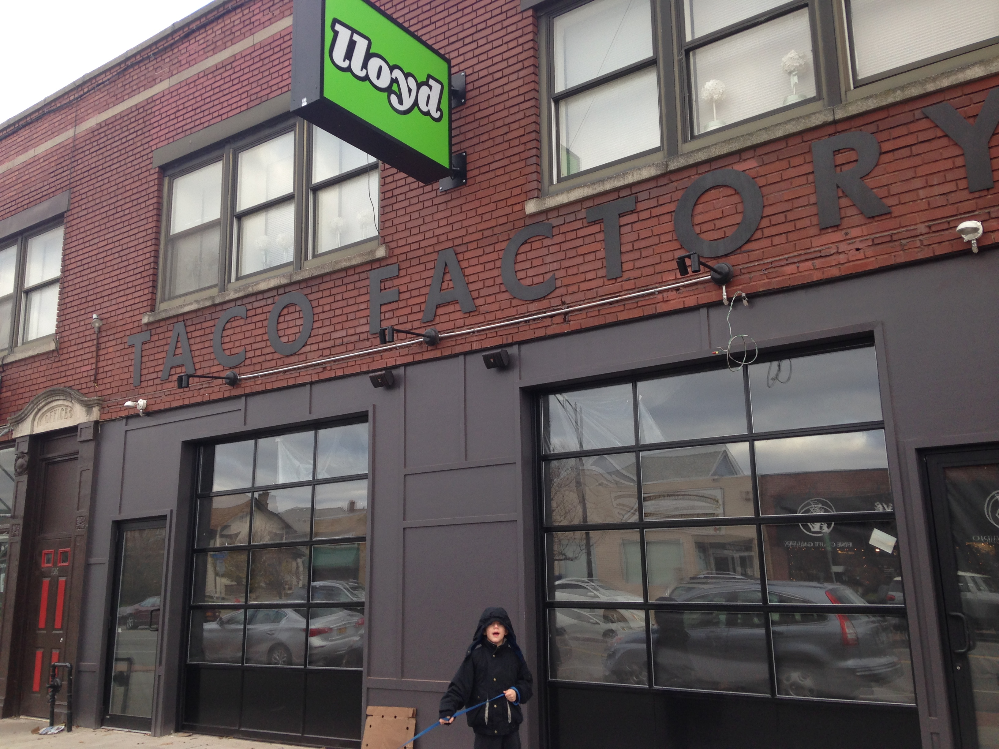 Lloyd Taco Factory, 1503 Hertel Ave., had planned to open Saturday but now says it will open Monday. (Melinda Miller/Buffalo News)