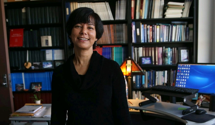 Rina Das Eiden, a senior research scientist and research associate professor of pediatrics and psychology for the University at Buffalo Research Institute on Addictions, says chronic alcohol use during pregnancy is more dangerous to a developing child than use of other drugs. (Sharon Cantillon/Buffalo News)