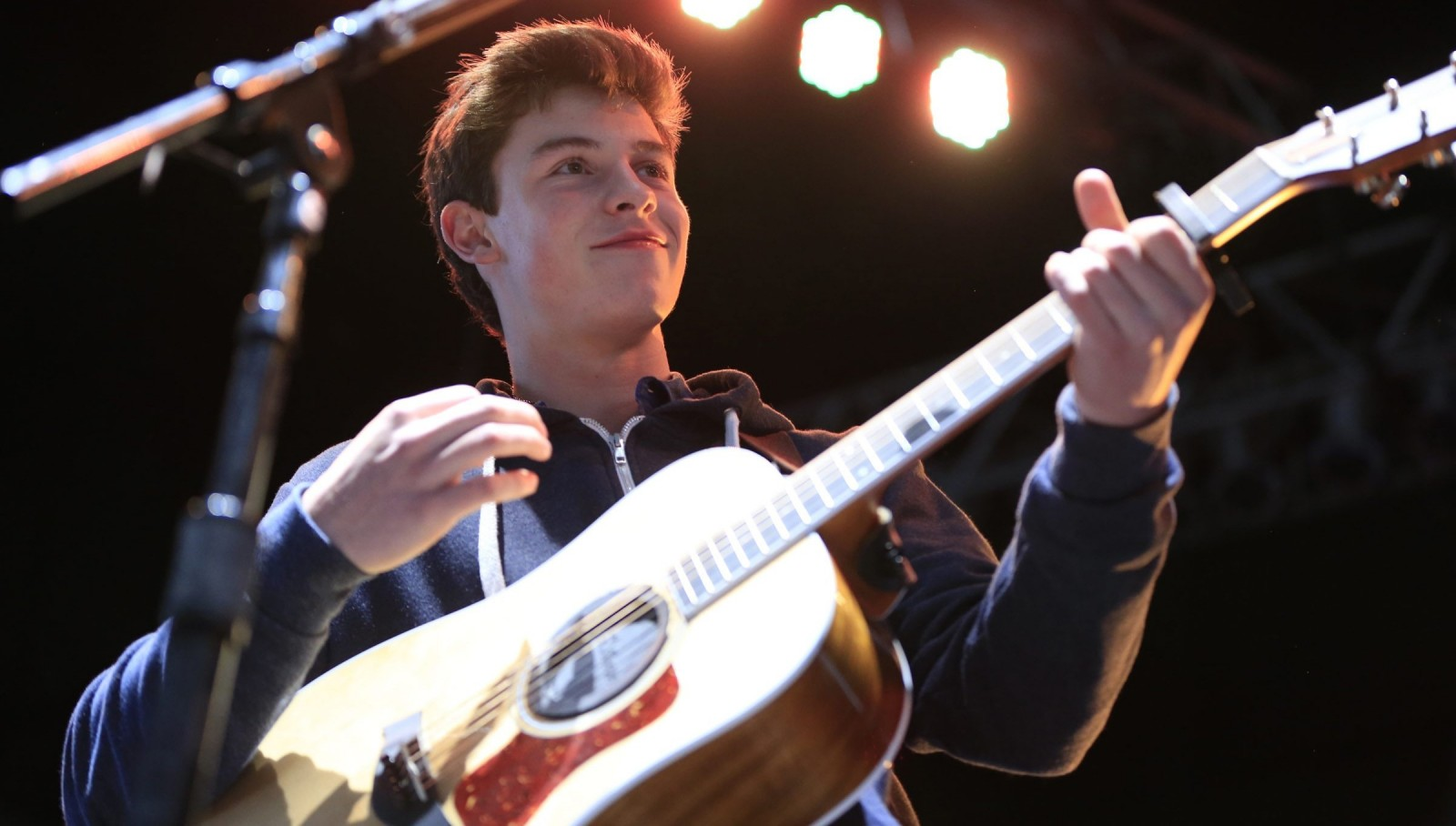 Shawn Mendes, seen performing at Darien Lake in 2015, returns to the area for a show at the Erie County Fair. (Harry Scull Jr/Buffalo News file photo)