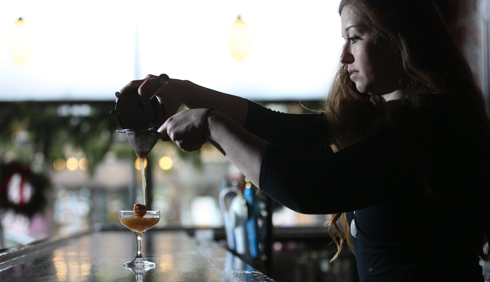 Mes Que Rachel Wright will be everywhere during Nickel City Drink, speaking at the Twentieth Century Club, and mixing drinks at the opening and closing parties, as well as seven events at Mes Que. (Sharon Cantillon/Buffalo News)