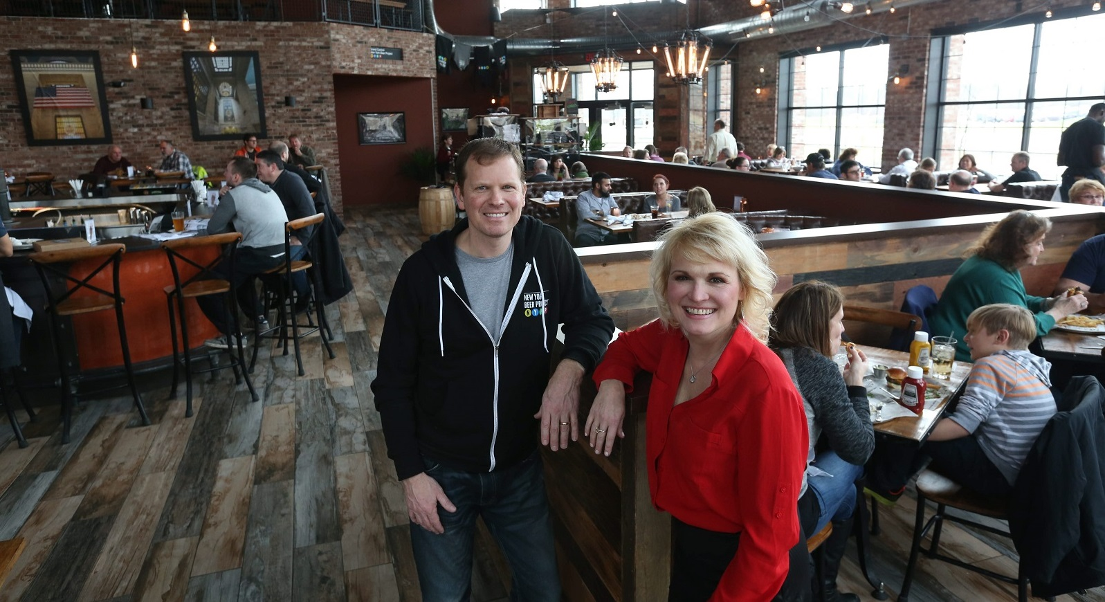 New York Beer Project owners Kelly and Kevin Krupski will have their beer at The Art of Beer. (Sharon Cantillon/Buffalo News file photo)