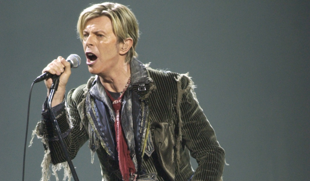 David Bowie, seen performing at Shea's in 2004, will be honored at a tribute show on March 30. (Buffalo News file photo)