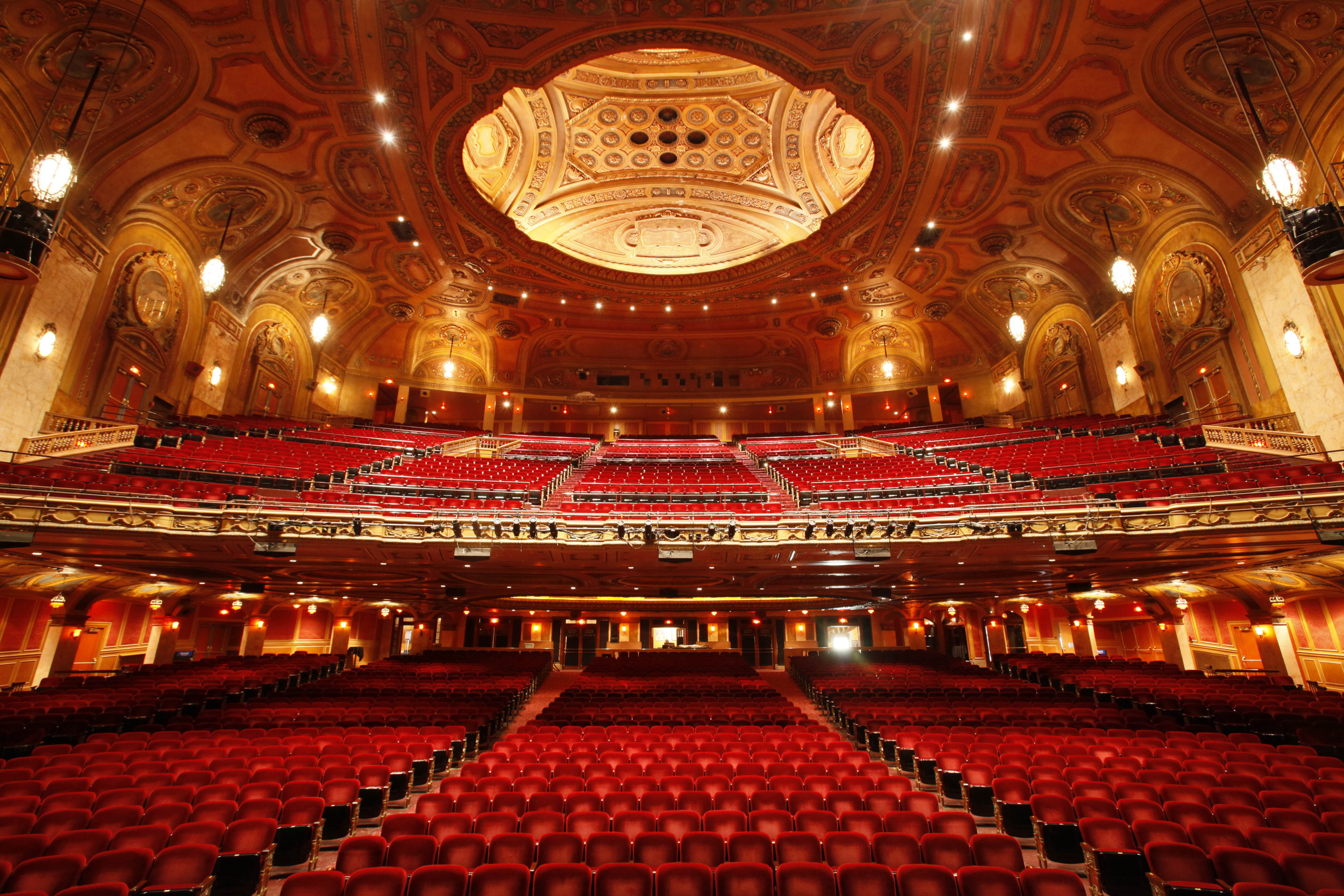 Timeless beauty: Shea's Performing Arts Center, opened in 1926 and saved from the wrecking ball in the 1970s, is looking better than ever thanks to a $15 million restoration project.