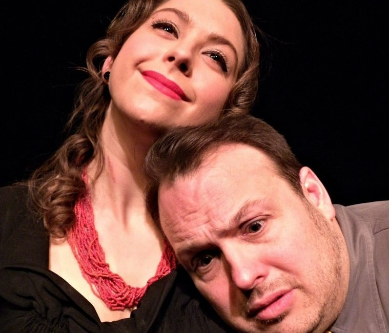 'Speak No Evil,' starring Emily Yancey and Joey Bucheker, is on stage at Alleyway Theatre.