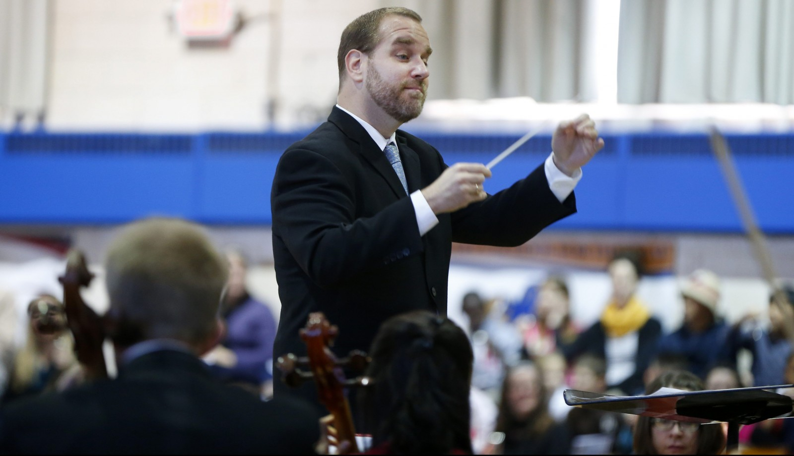 Stefan Sanders is the new music director of the Greater Buffalo Youth Orchestra. (Mark Mulville/Buffalo News file photo)