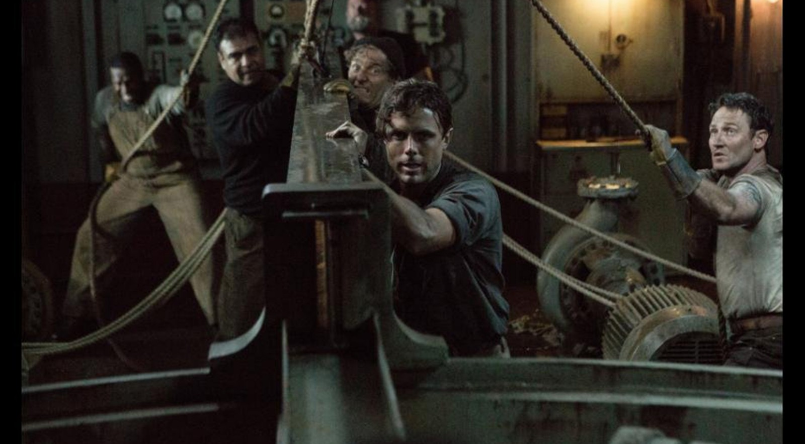 Casey Affleck, front, stars in 'The Finest Hours.'