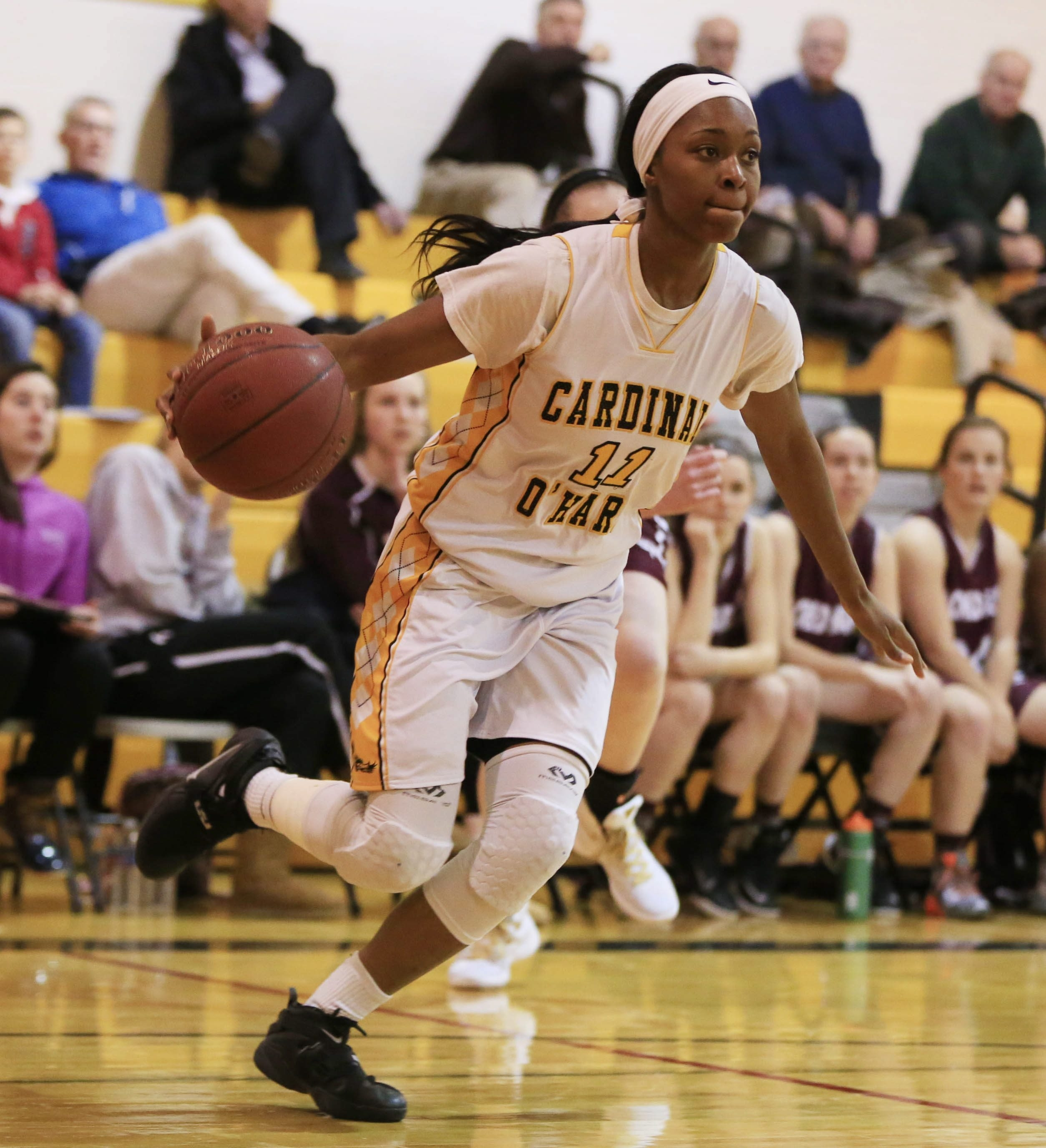Cardinal O'Hara's Anndea Zeigler and her Hawks teammates were voted unanimously as the No. 1 Large School following a victory over second-ranked Sacred Heart.
