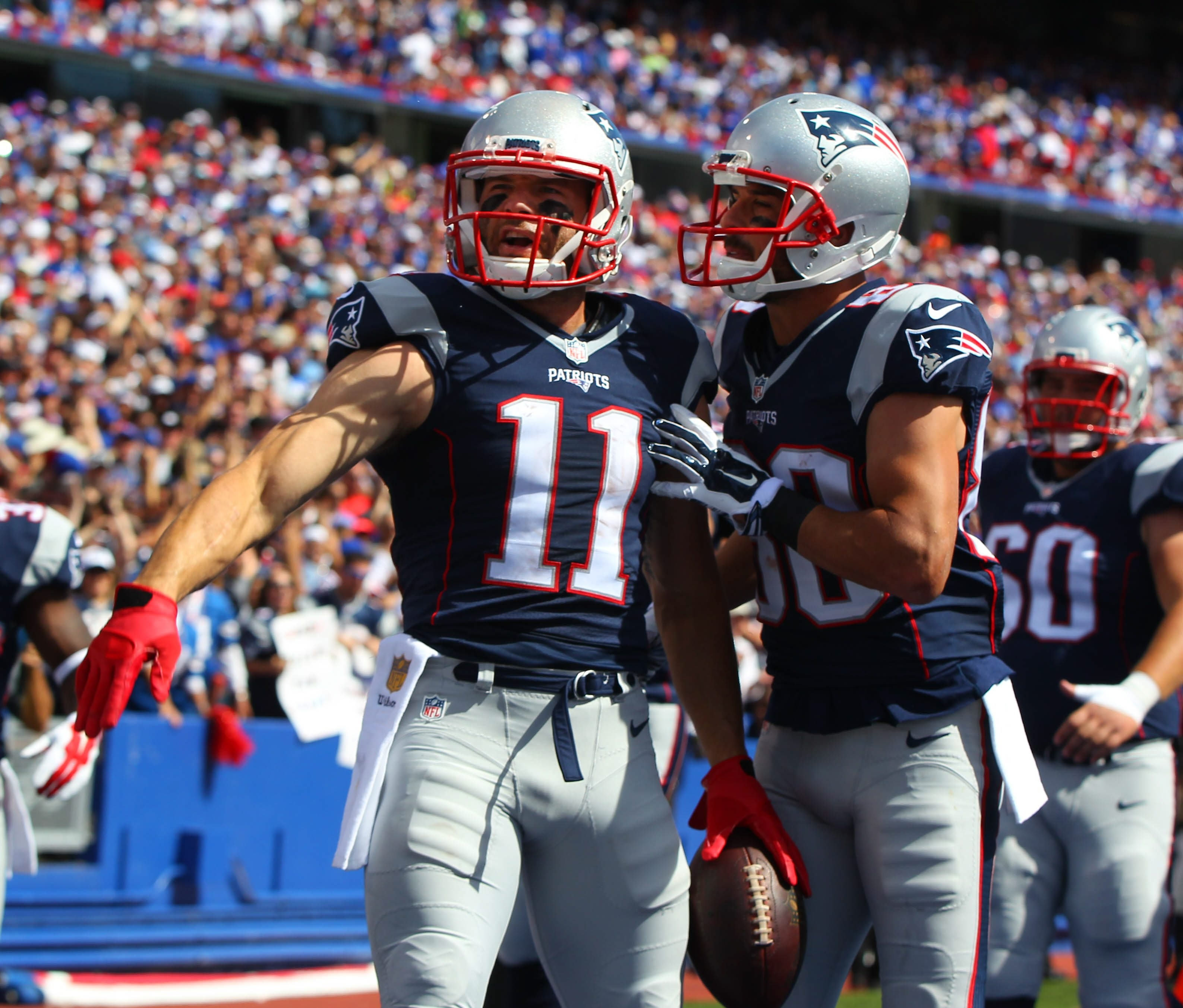 Julian Edelman is expected back in the lineup Saturday when the Patriots meet the Chiefs. (Mark Mulville/Buffalo News)