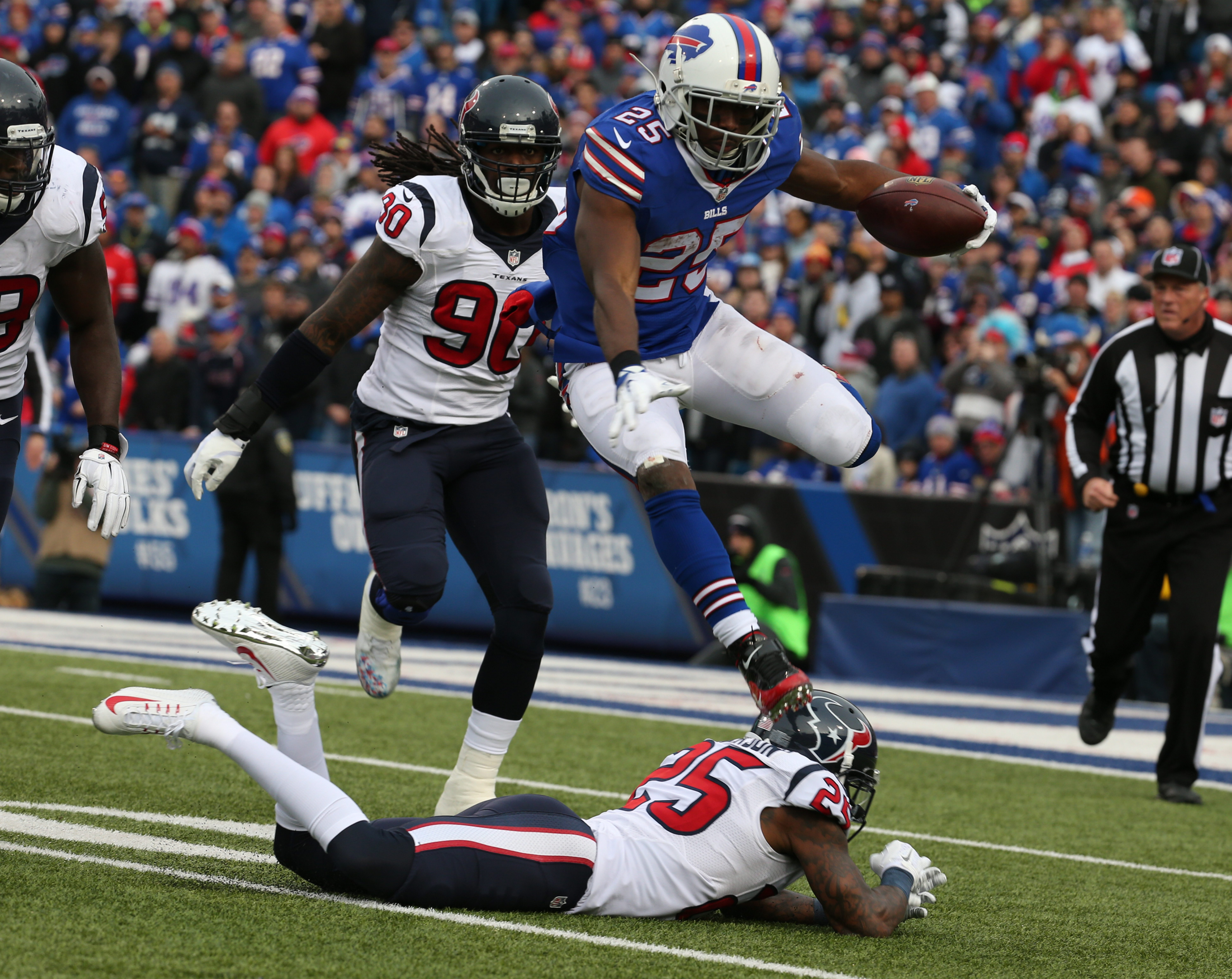 Running back LeSean McCoy is one of the reasons the Bills' rushing attack took a big leap forward in 2015. (James P. McCoy/ Buffalo News)