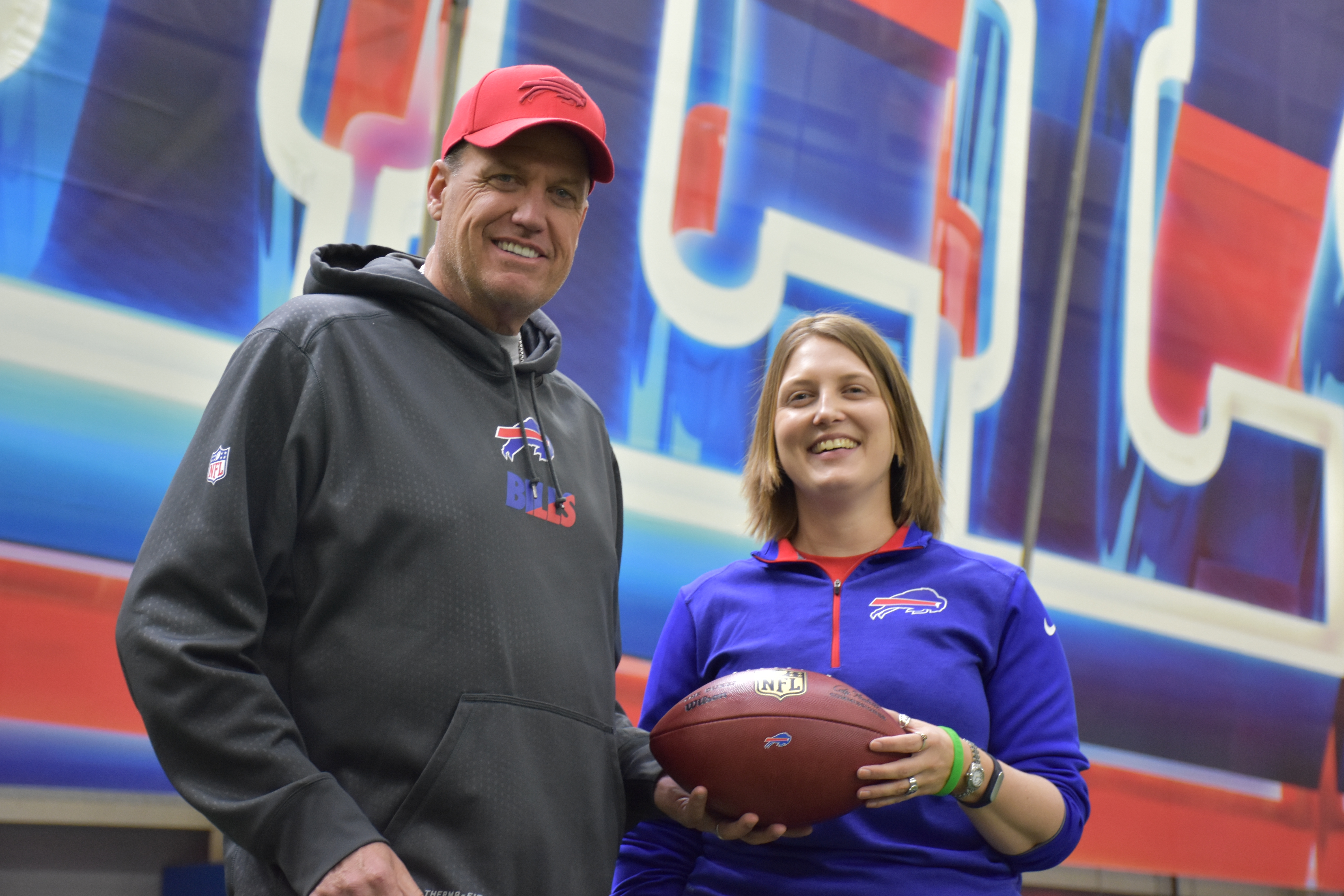 Rex Ryan thought Kathryn Smith would be a great addition to the Bills' coaching, knocking down a barrier in the process.