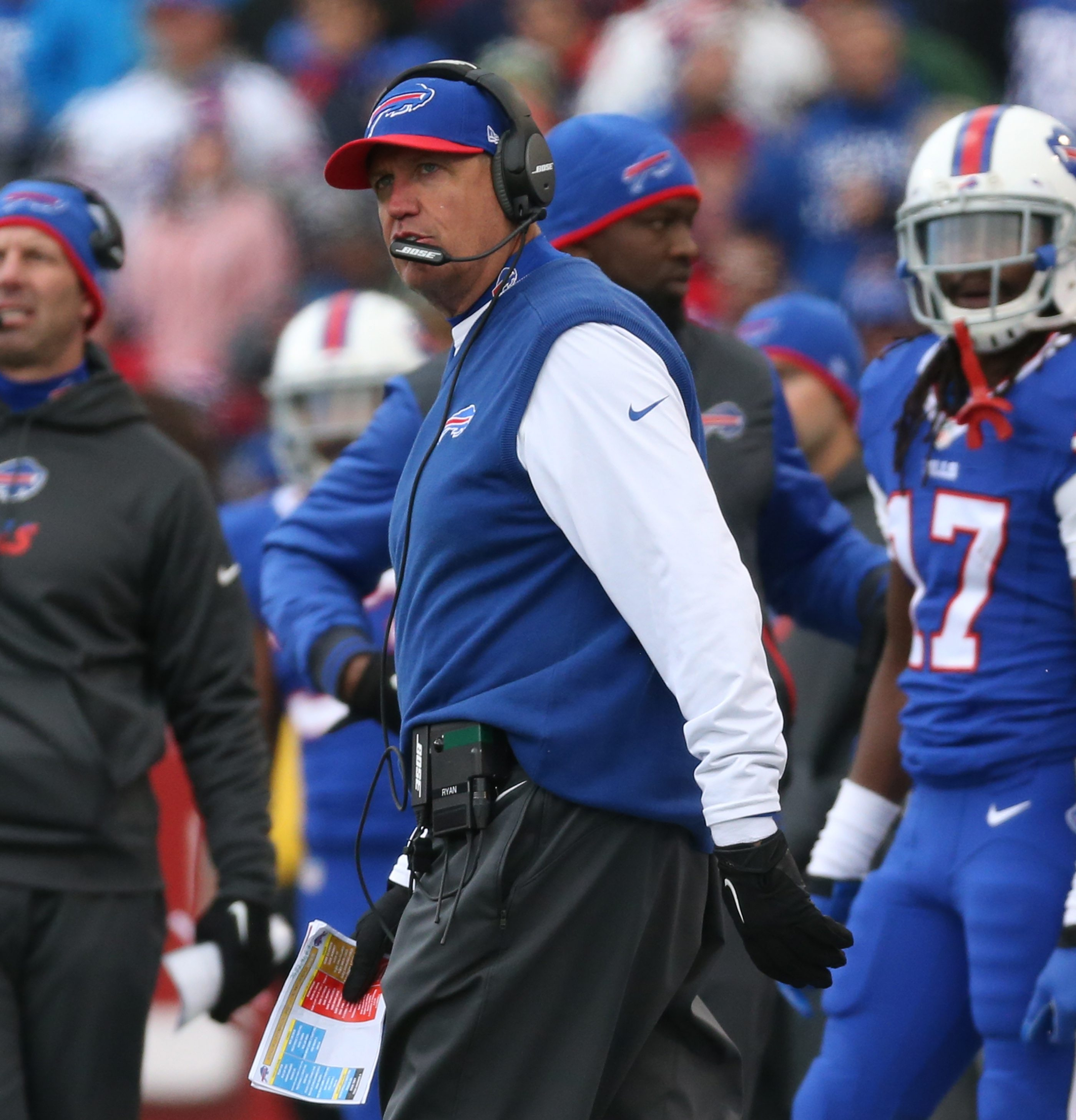 Rex Ryan's unfulfilled promises have turned off some Bills fans while others cite circumstances.