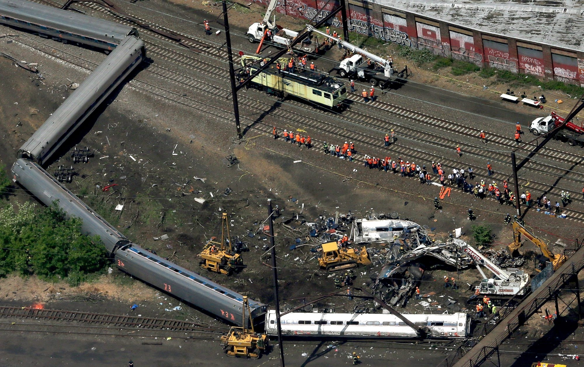 The deadly Amtrak derailment May 13 in Philadelphia could have been prevented if the positive train control system had been in operation. (Getty Images file photo)