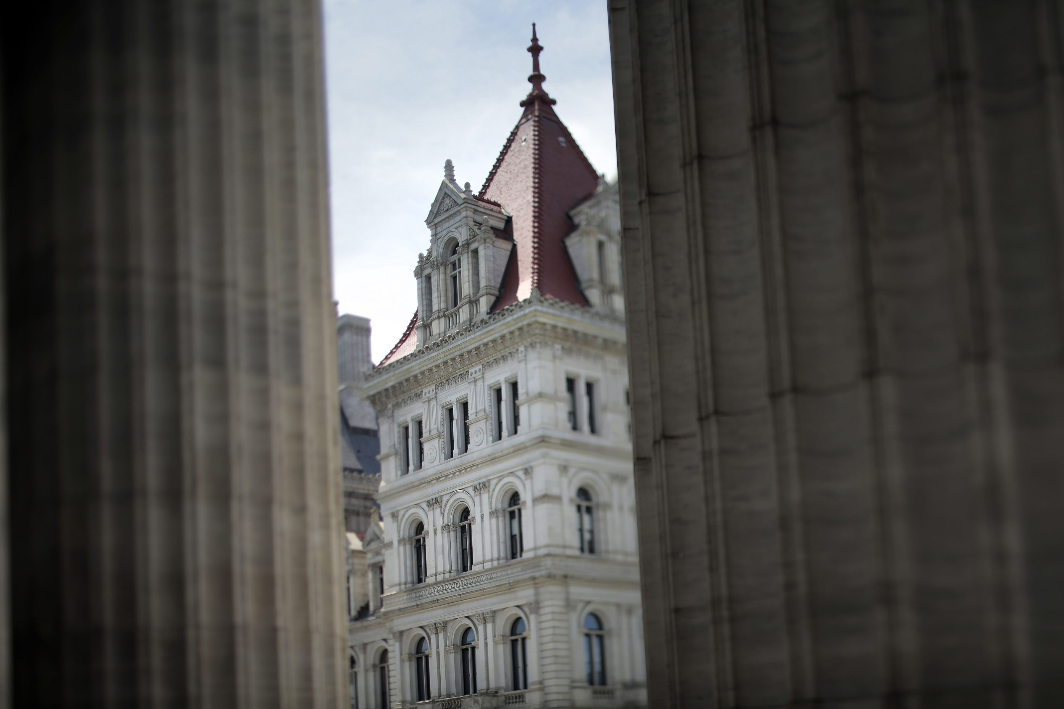 The New York State Capitol in Albany, July 16, 2014. Gov. Andrew Cuomo's office repeatedly interfered with an independent anti-corruption commission that has since been terminated, according to those who served on it.  (Nathaniel Brooks/The New York Times)